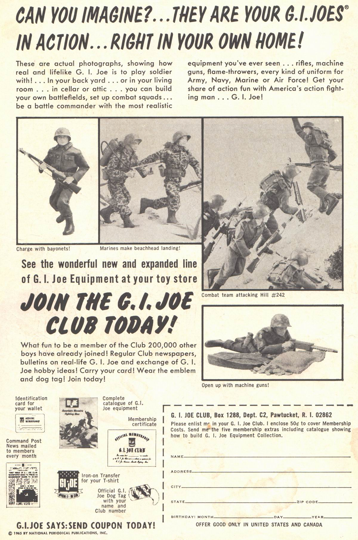 Read online Adventure Comics (1938) comic -  Issue #337 - 2