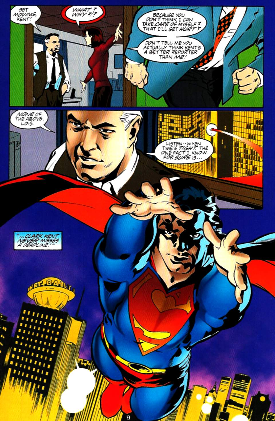 Read online Adventures of Superman (1987) comic -  Issue #537 - 10