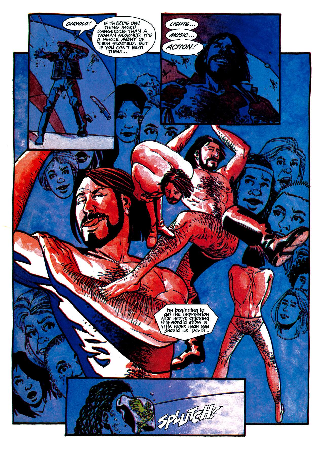 Read online Nikolai Dante comic -  Issue # TPB 1 - 129