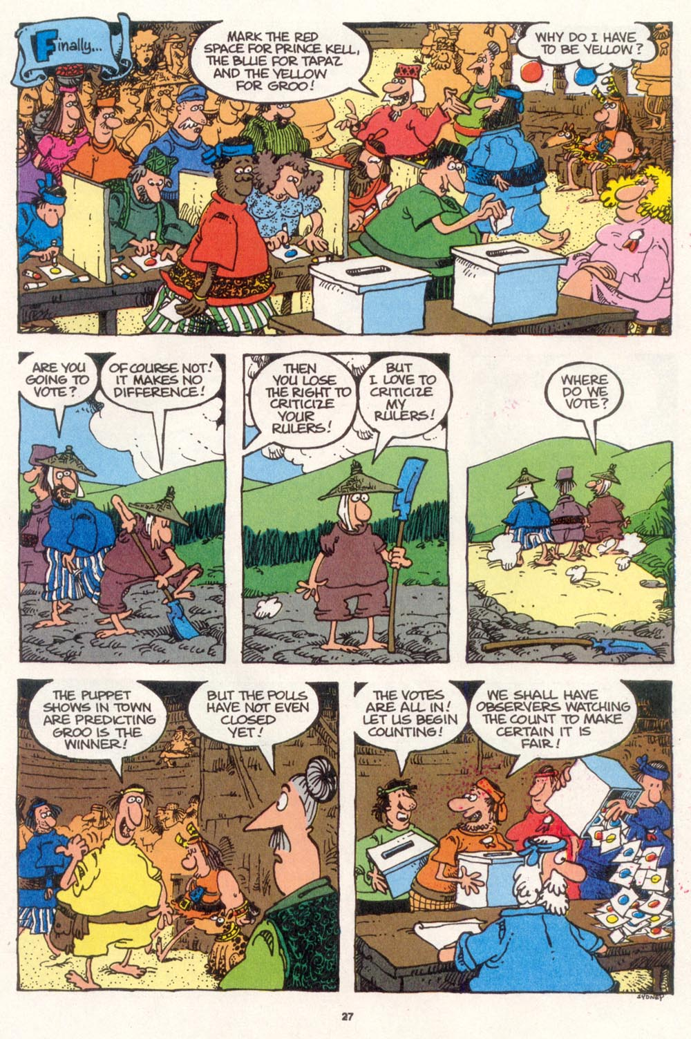 Read online Sergio Aragonés Groo the Wanderer comic -  Issue #108 - 29