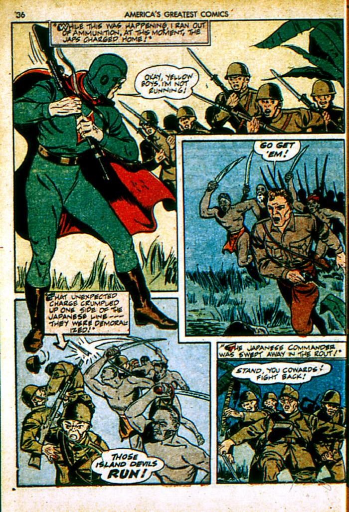 Read online America's Greatest Comics comic -  Issue #4 - 36
