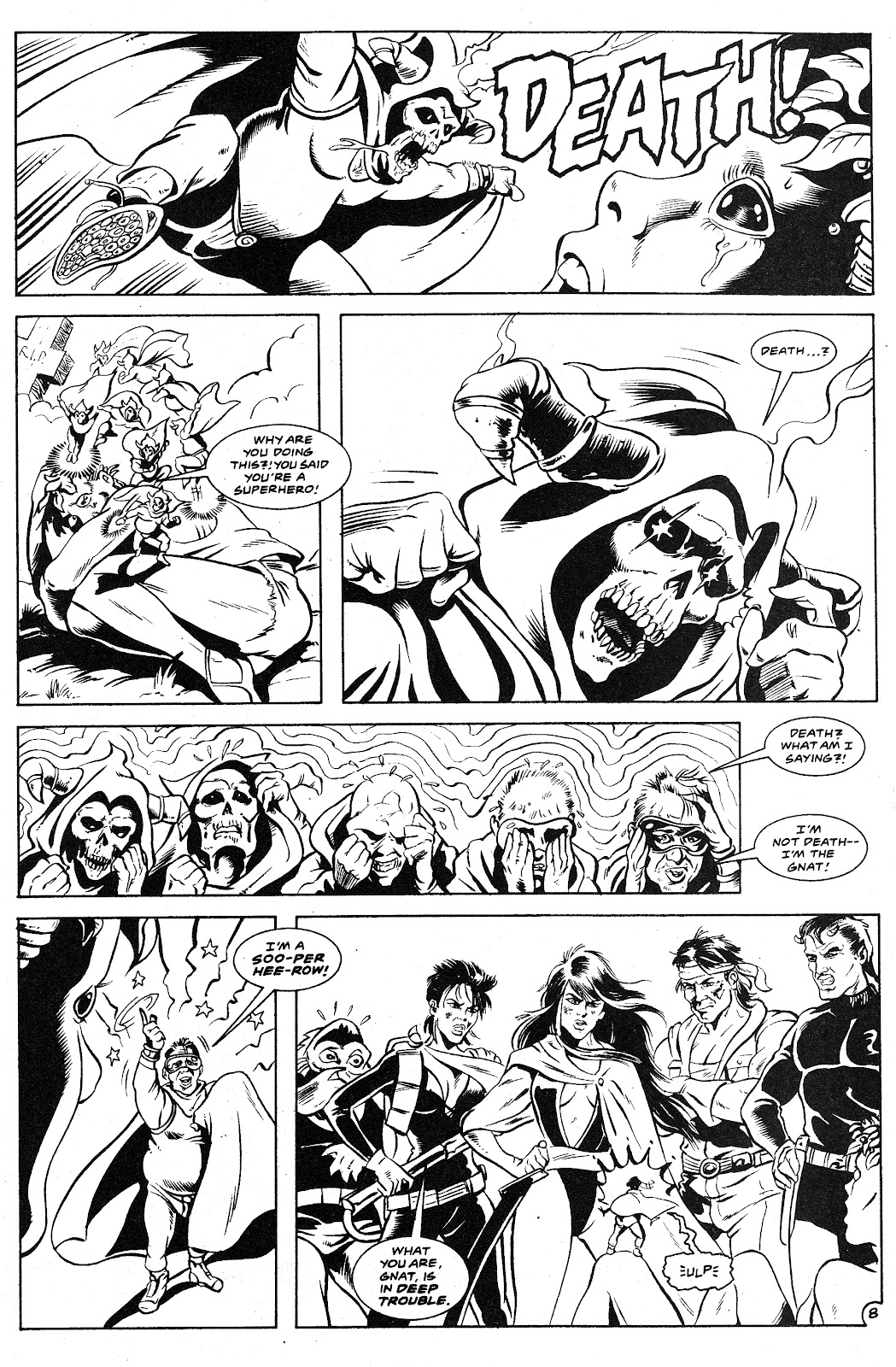Ex-Mutants: The Shattered Earth Chronicles issue 9 - Page 10