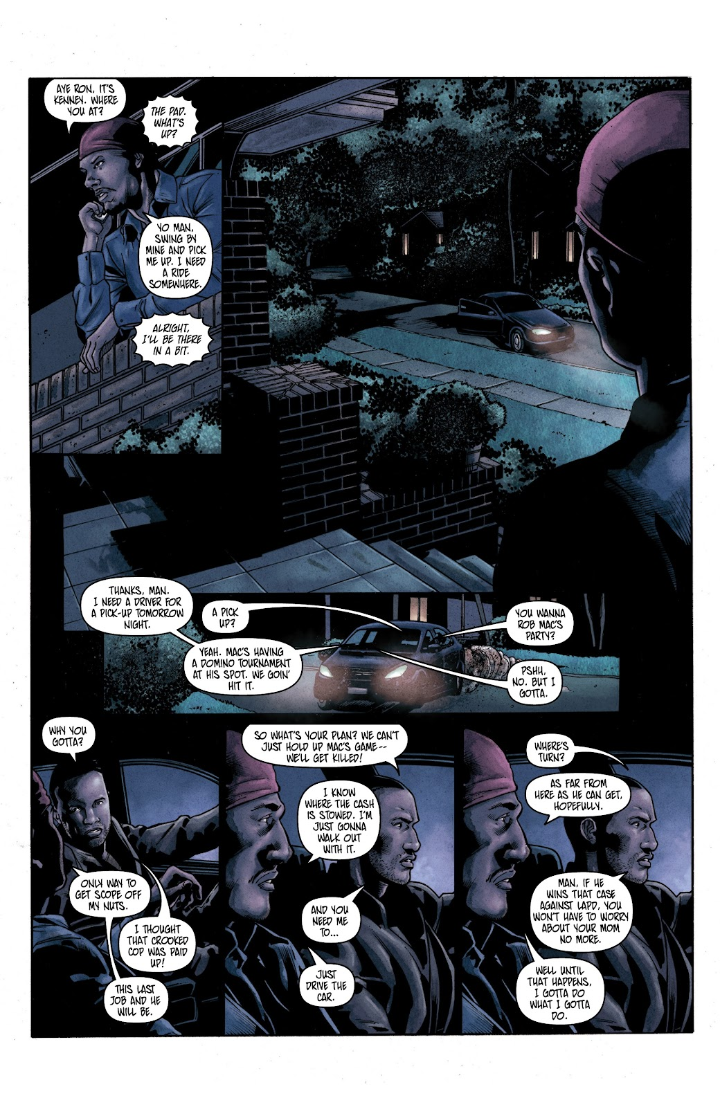 Read online Vindication comic -  Issue #2 - 15