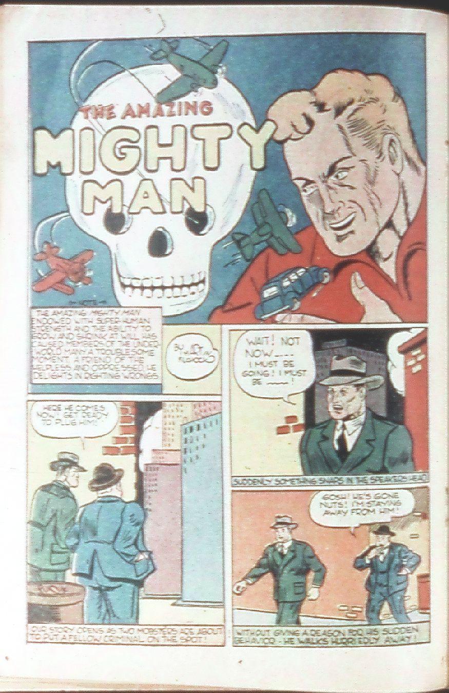 Read online Amazing Man Comics comic -  Issue #18 - 34
