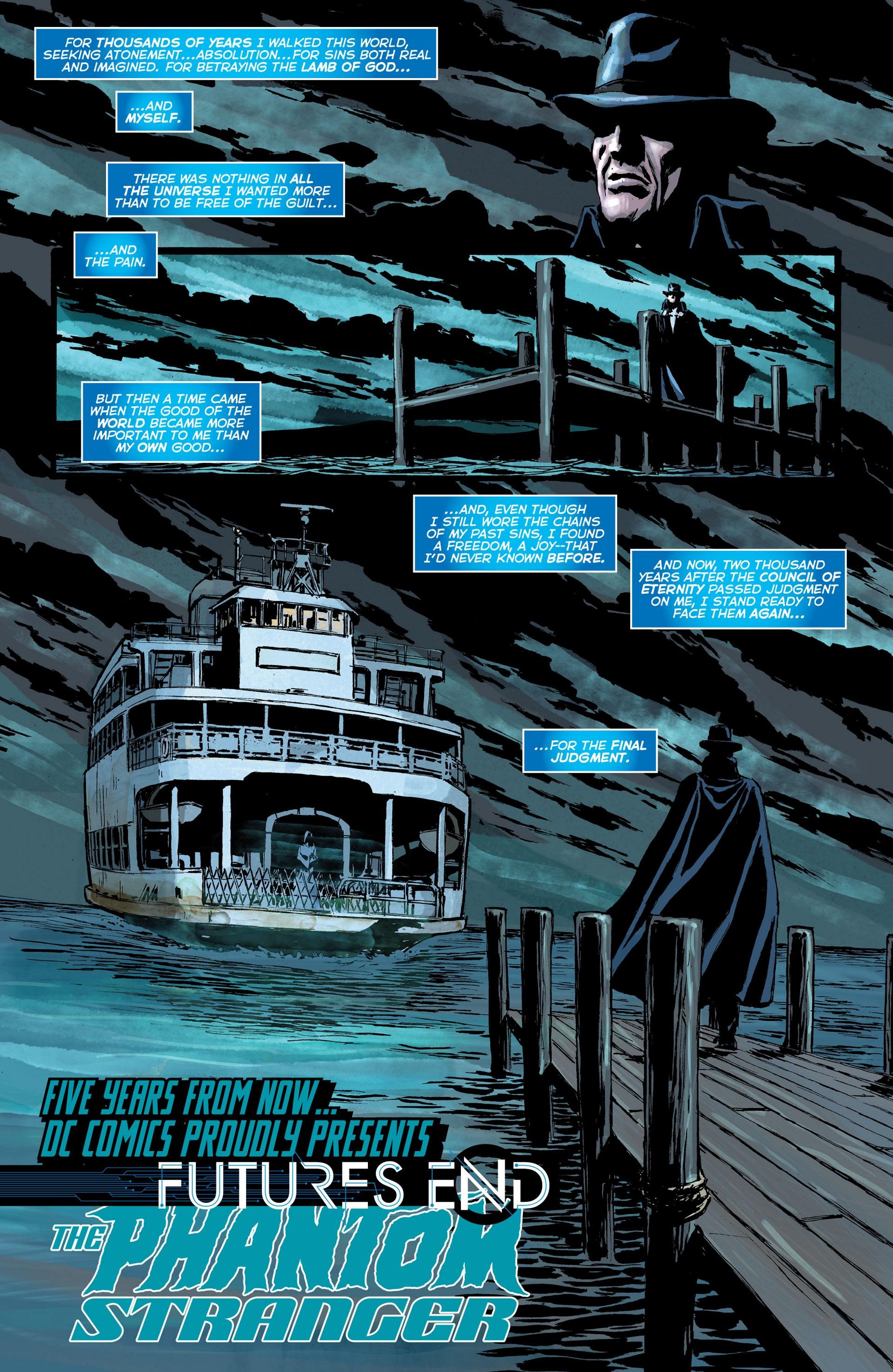 Read online Trinity of Sin: The Phantom Stranger: Futures End comic -  Issue # Full - 2