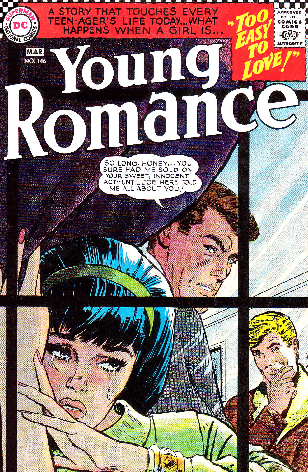 Young Romance issue 146 - Page 1