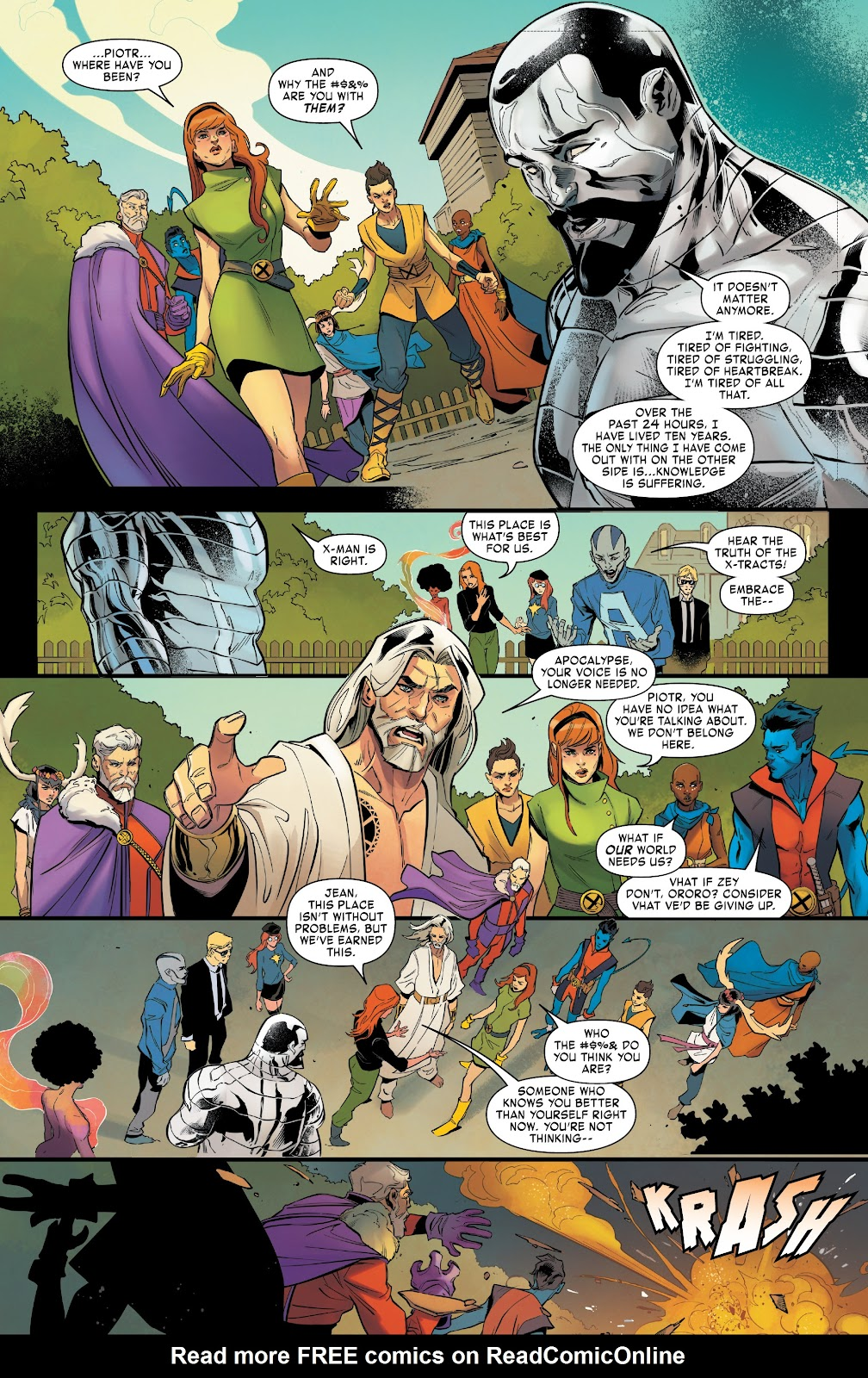 Read online Age of X-Man Omega comic -  Issue # Full - 15