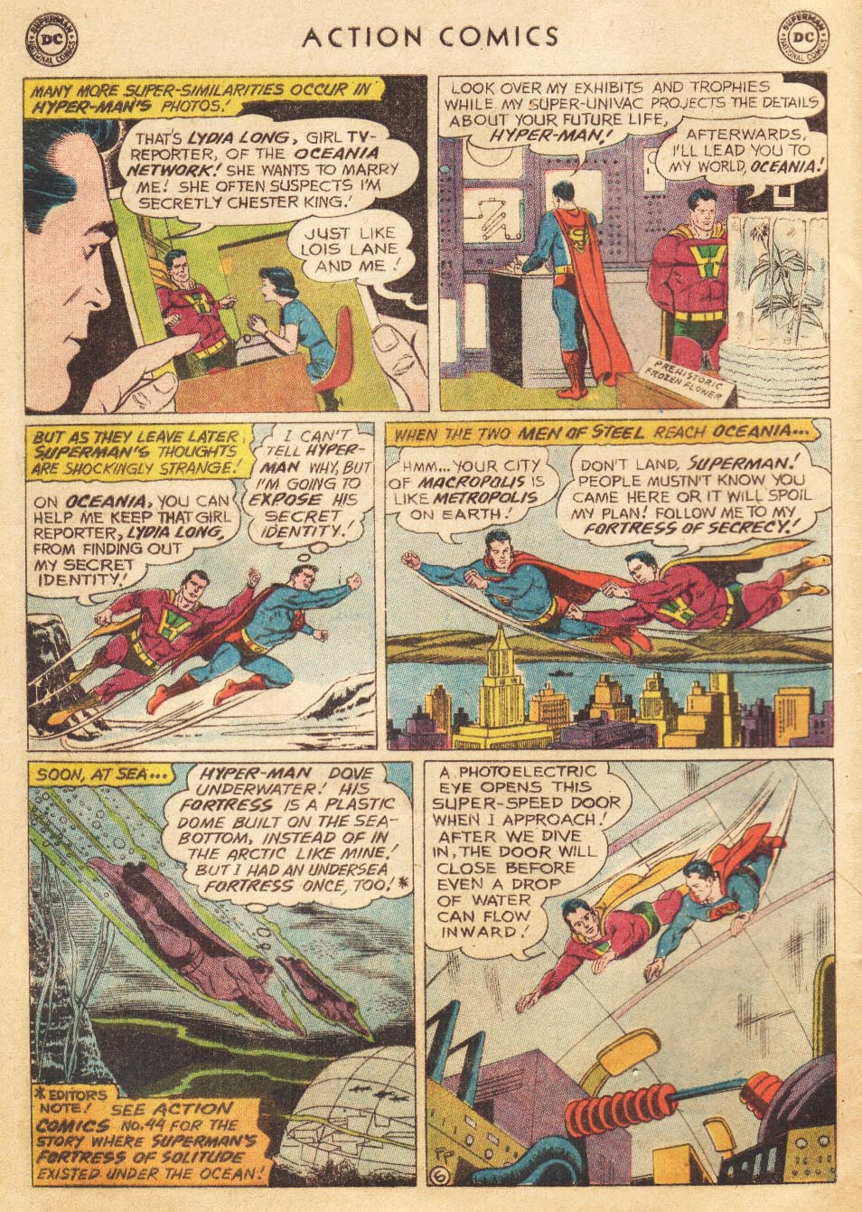 Read online Action Comics (1938) comic -  Issue #265 - 8