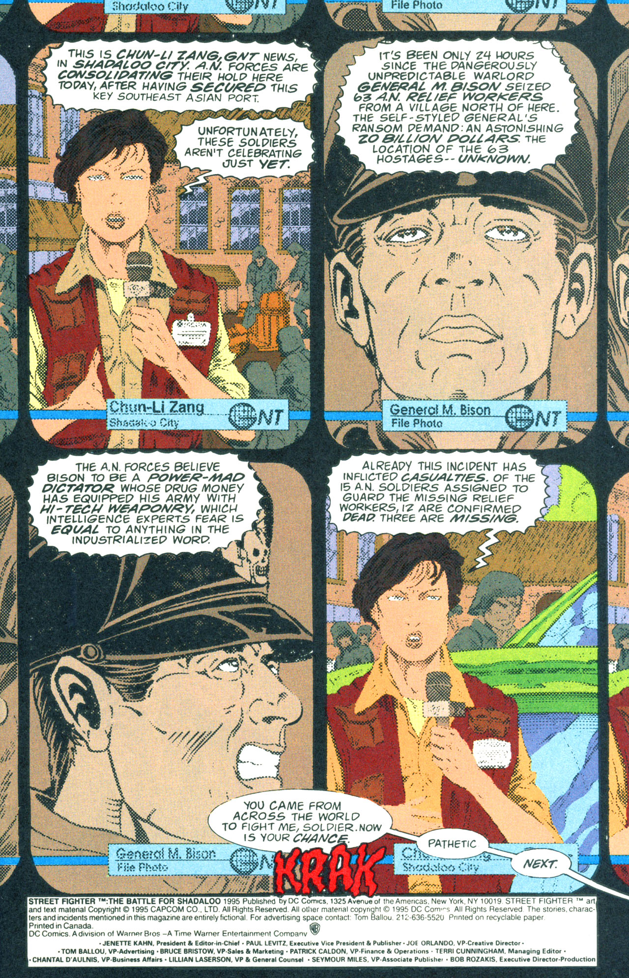 Read online Street Fighter: The Battle For Shadaloo comic -  Issue # Full - 2