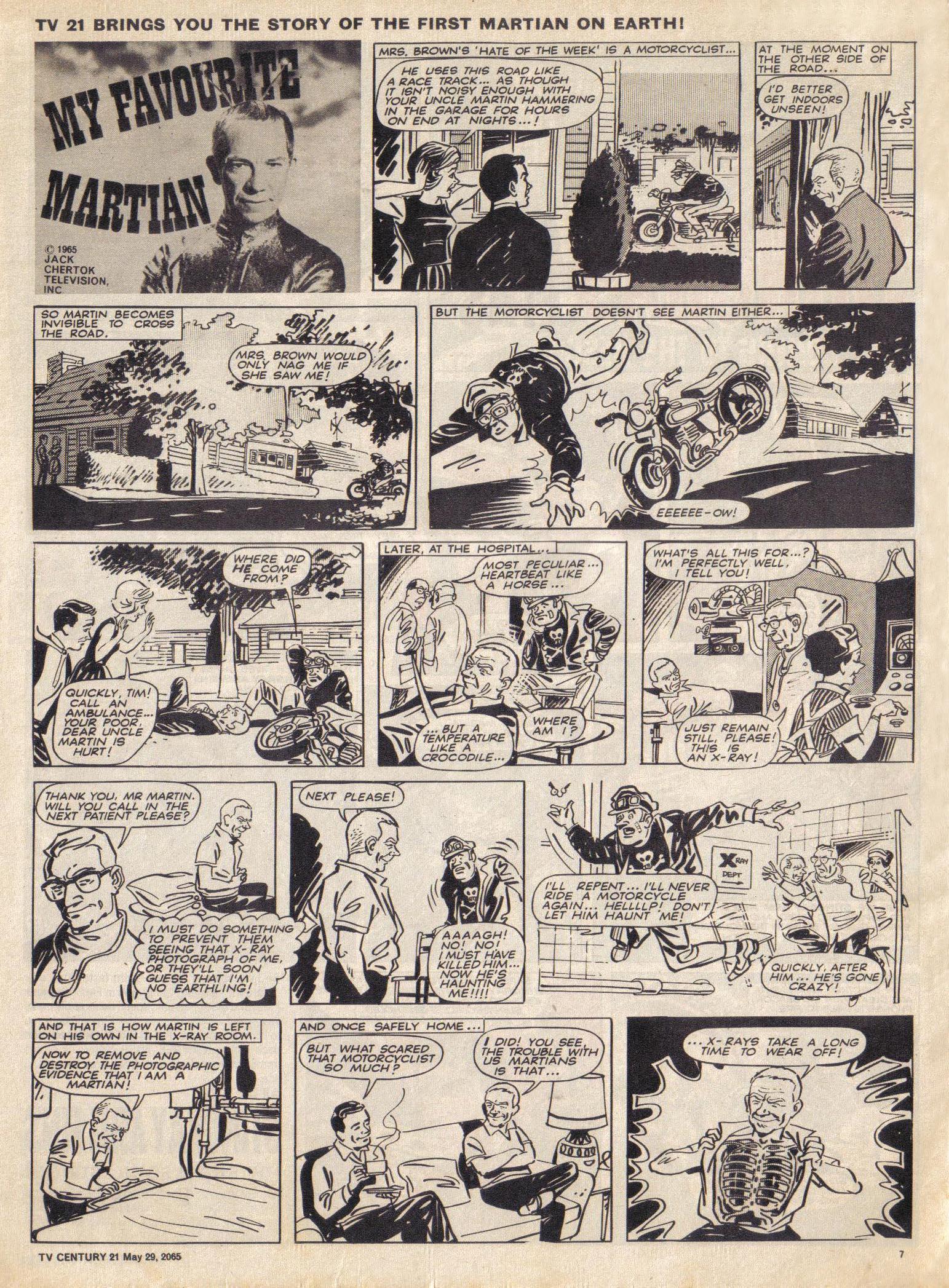 Read online TV Century 21 (TV 21) comic -  Issue #19 - 7