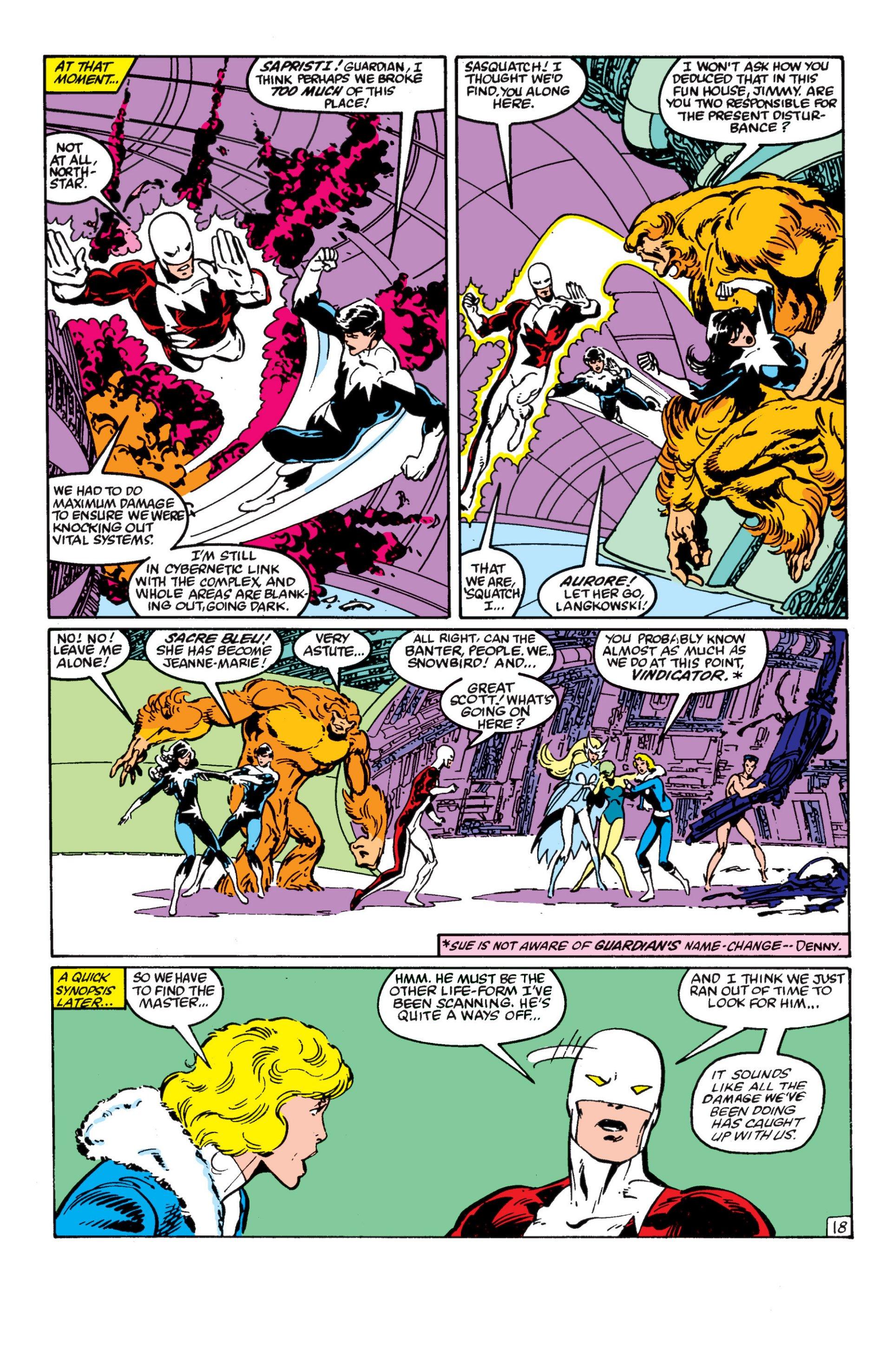 Read online Alpha Flight (1983) comic -  Issue #4 - 18