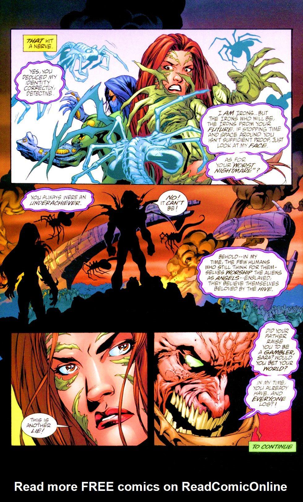 Witchblade/Aliens/The Darkness/Predator: Mindhunter 1 Page 22