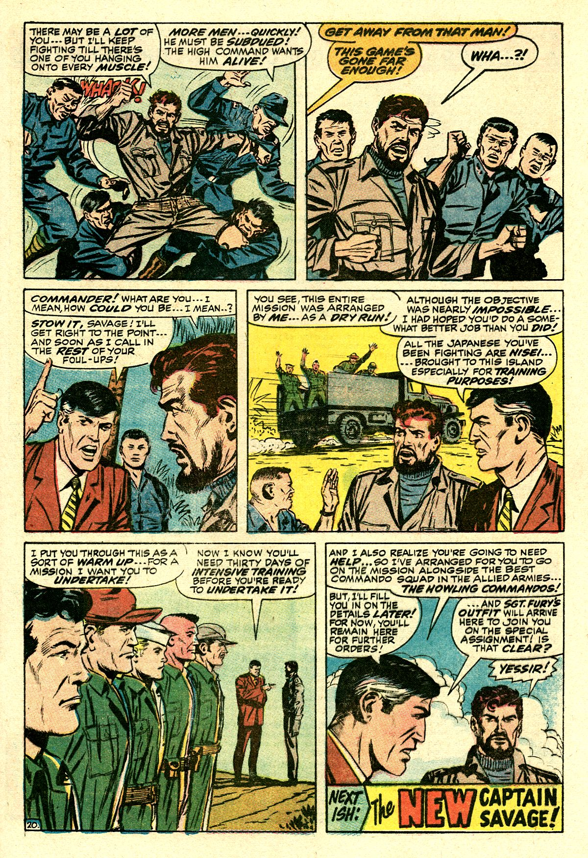Captain Savage and his Leatherneck Raiders issue 8 - Page 29