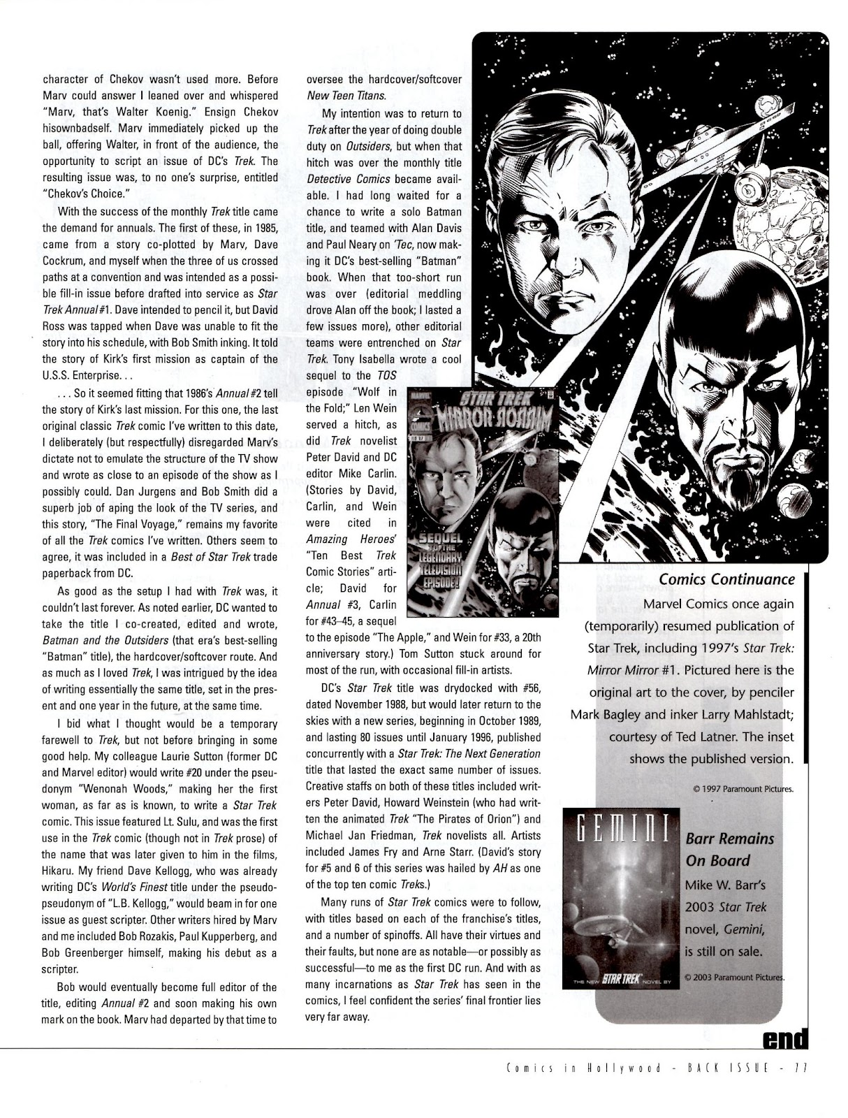 Back Issue issue 5 - Page 79
