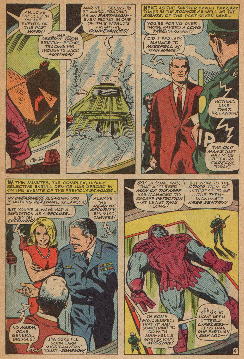 Captain Marvel (1968) Issue #3 #3 - English 5