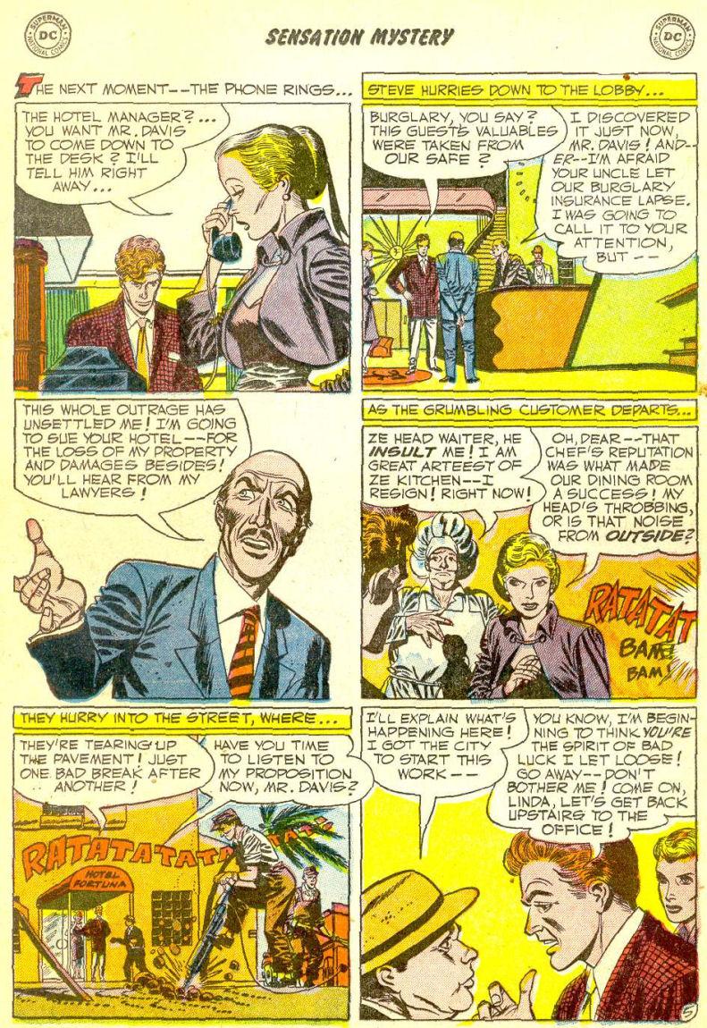 Read online Sensation (Mystery) Comics comic -  Issue #111 - 19