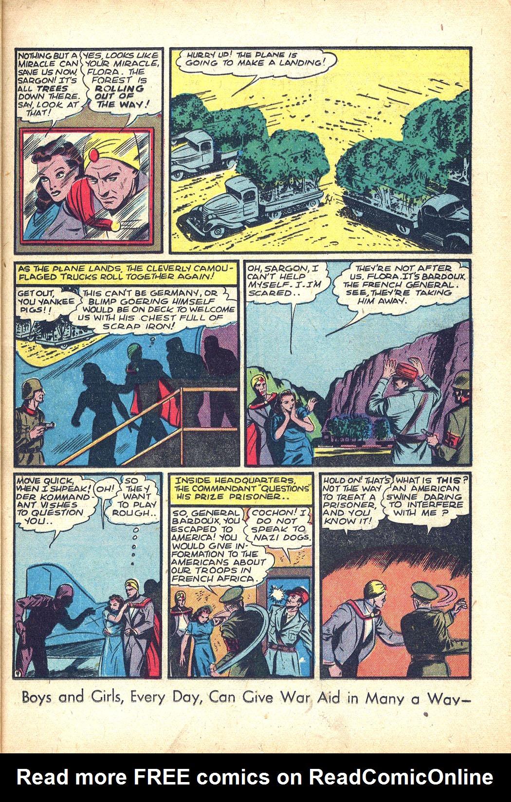 Read online Sensation (Mystery) Comics comic -  Issue #34 - 19