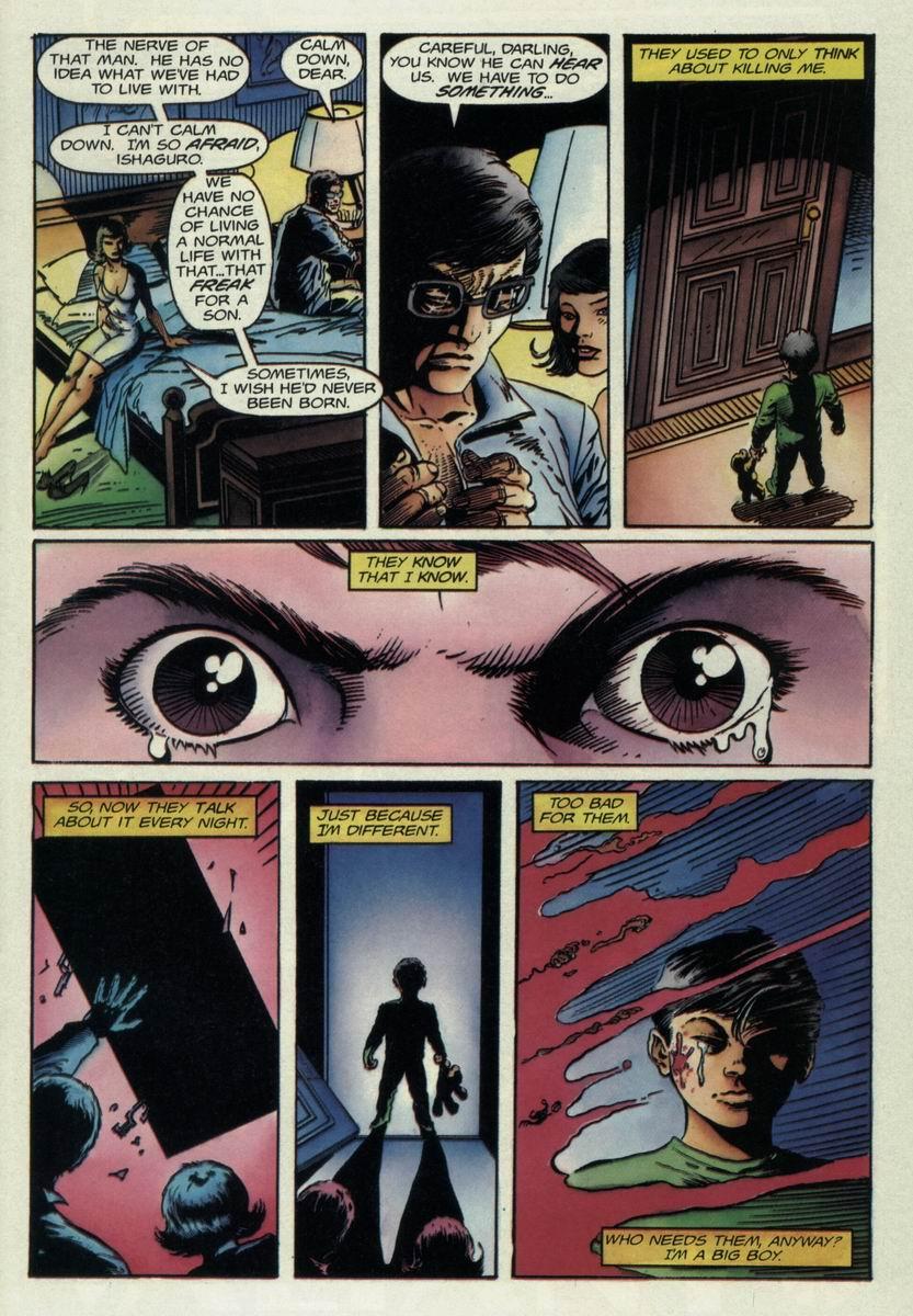 Read online Harbinger Files comic -  Issue #1 - 10