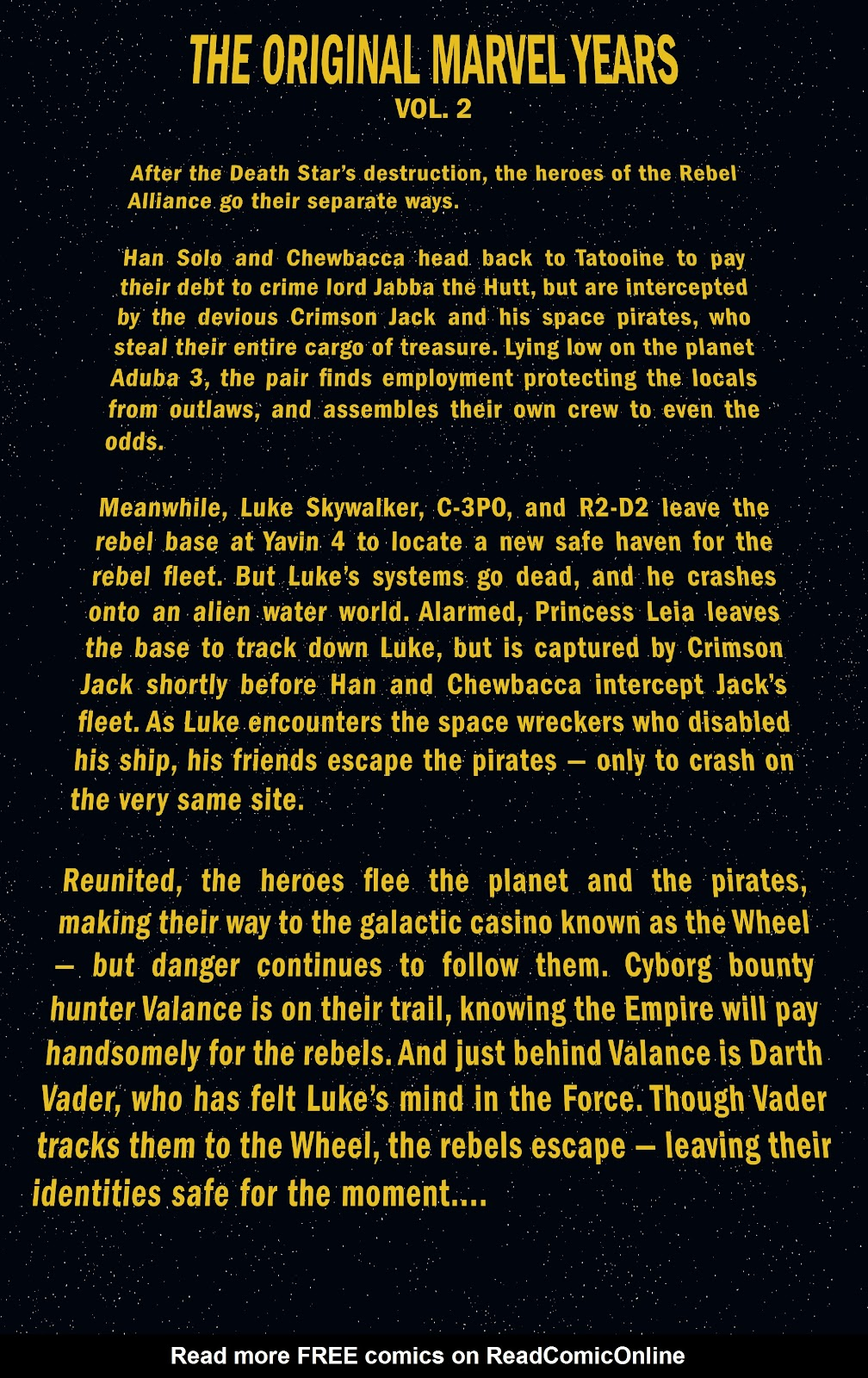 Read online Star Wars Legends: The Original Marvel Years - Epic Collection comic -  Issue # TPB 2 (Part 1) - 5