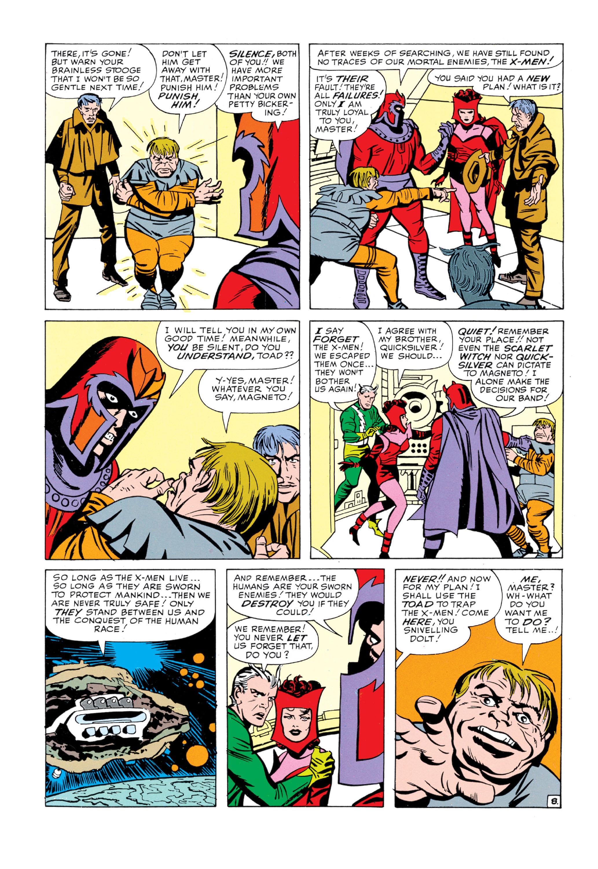 Read online Uncanny X-Men (1963) comic -  Issue #5 - 9