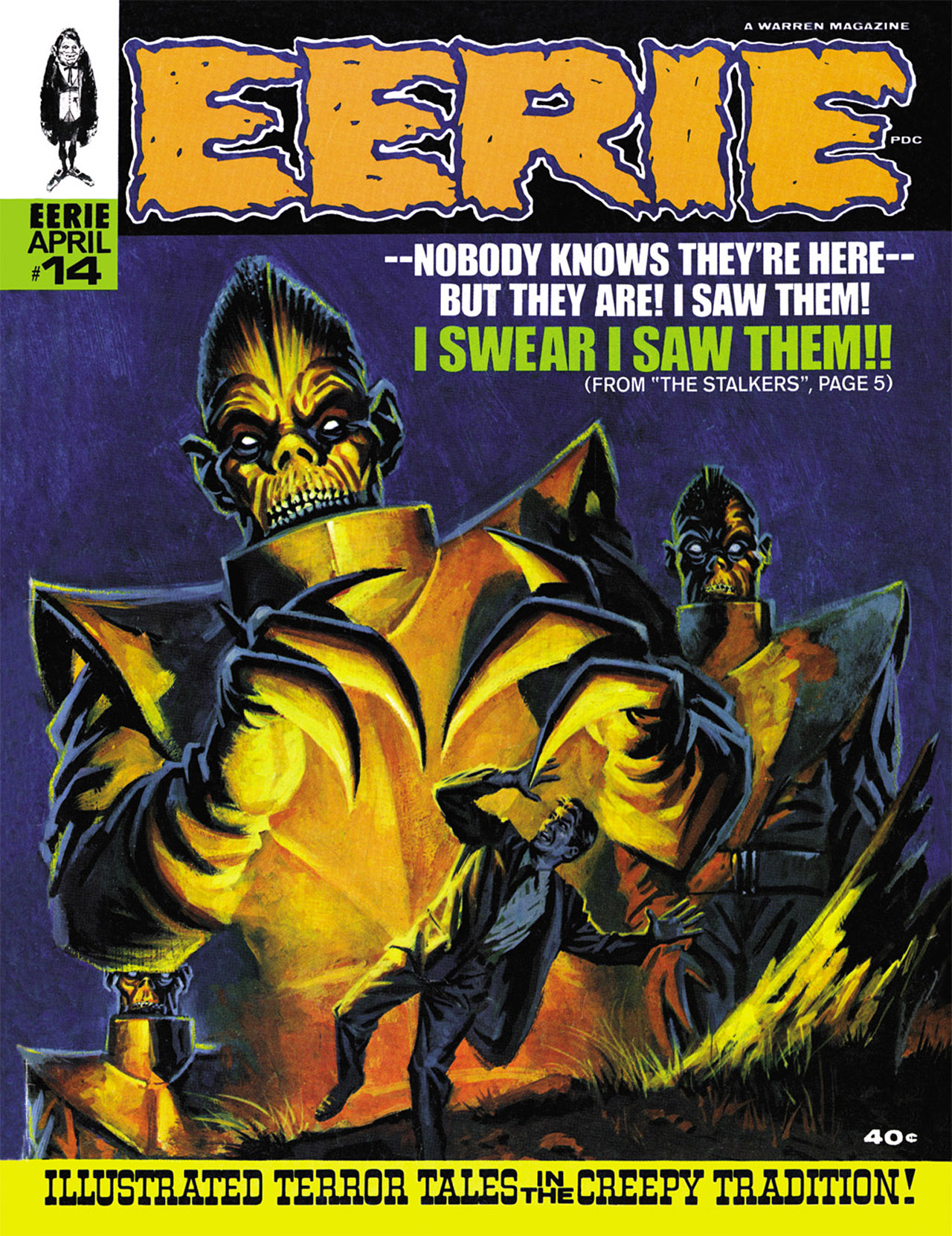 Read online Eerie Archives comic -  Issue # TPB 3 - 166
