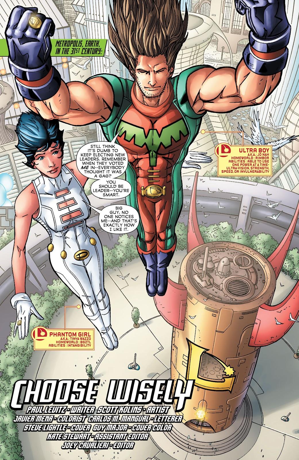 Legion of Super-Heroes (2011) Issue #16 #17 - English 2