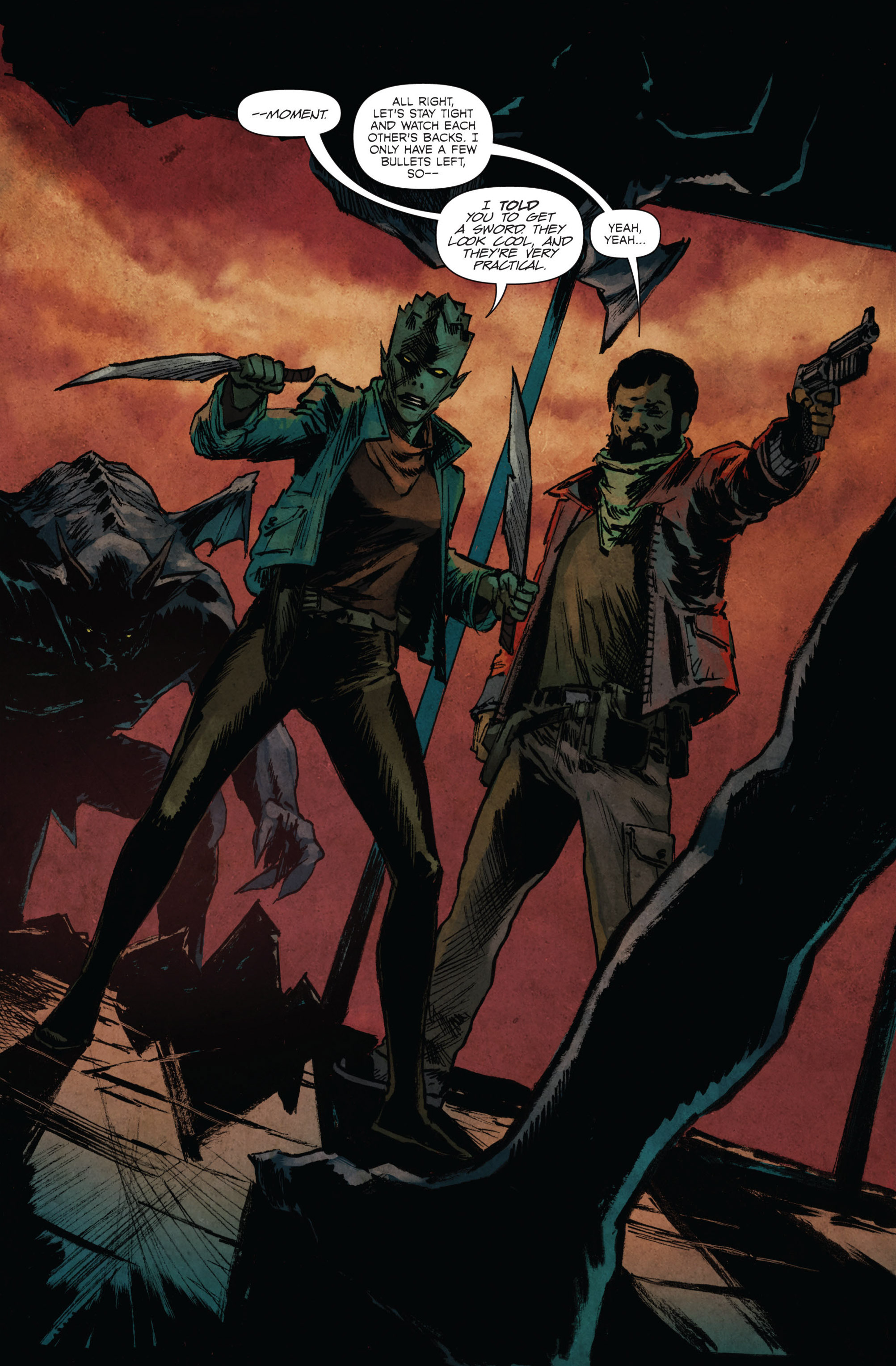 Read online Hoax Hunters (2015) comic -  Issue #3 - 9