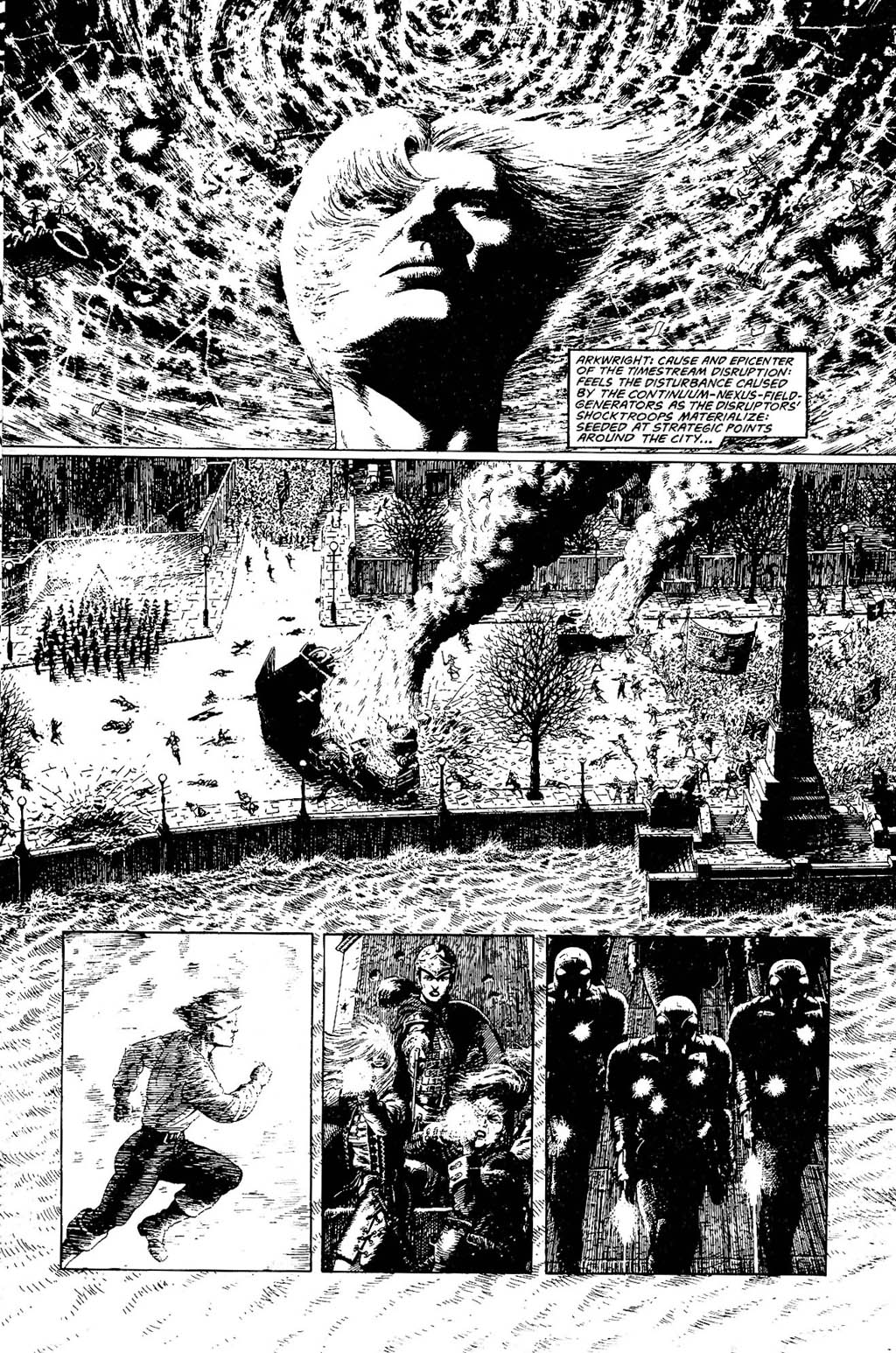 Read online The Adventures of Luther Arkwright comic -  Issue #9 - 4