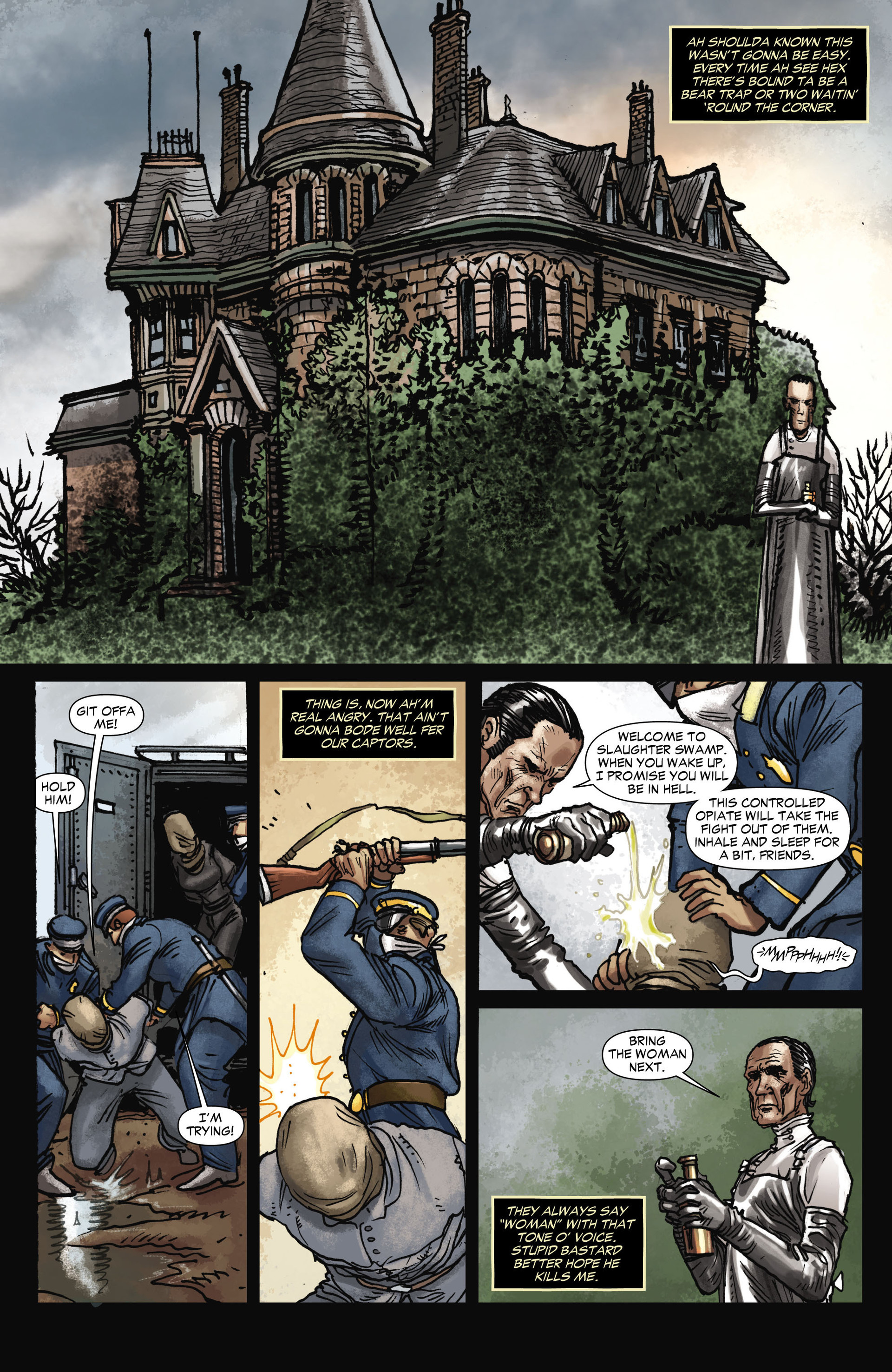Read online All-Star Western (2011) comic -  Issue #11 - 15