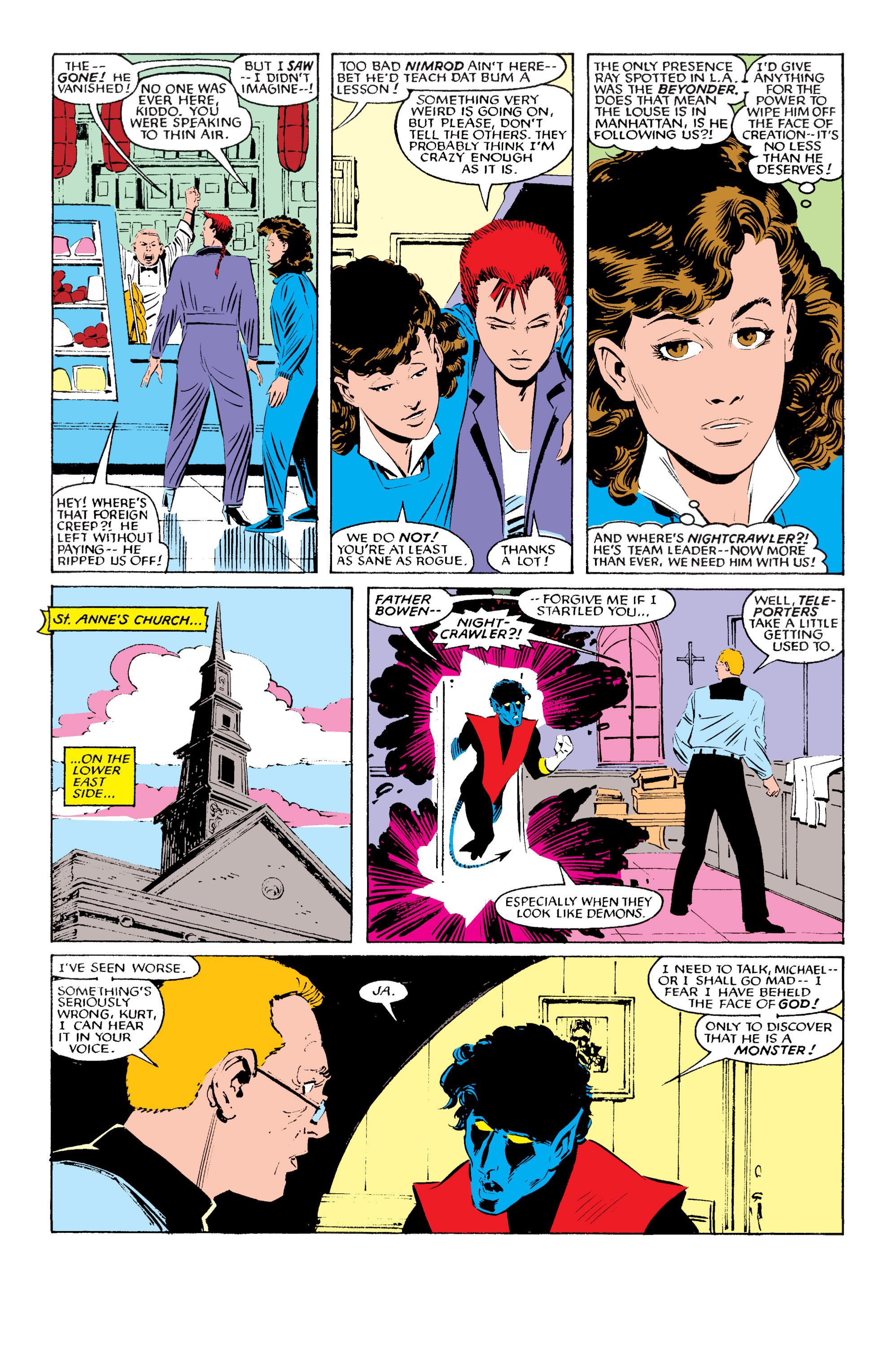 Read online Uncanny X-Men (1963) comic -  Issue #196 - 8