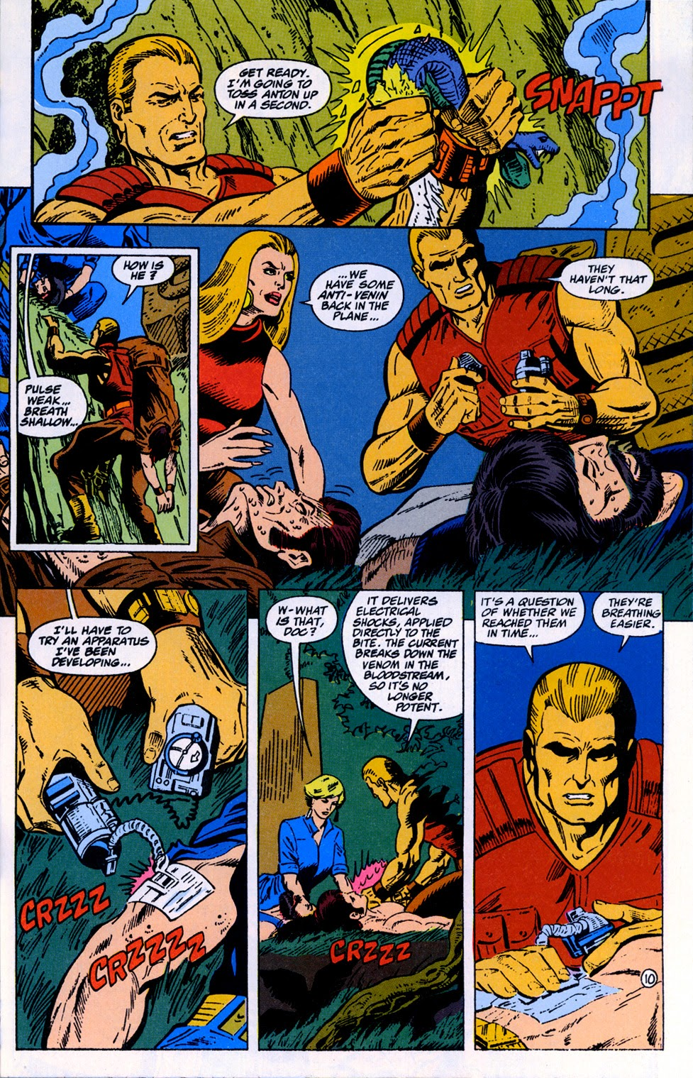 Doc Savage (1988) issue 10 - Page 12