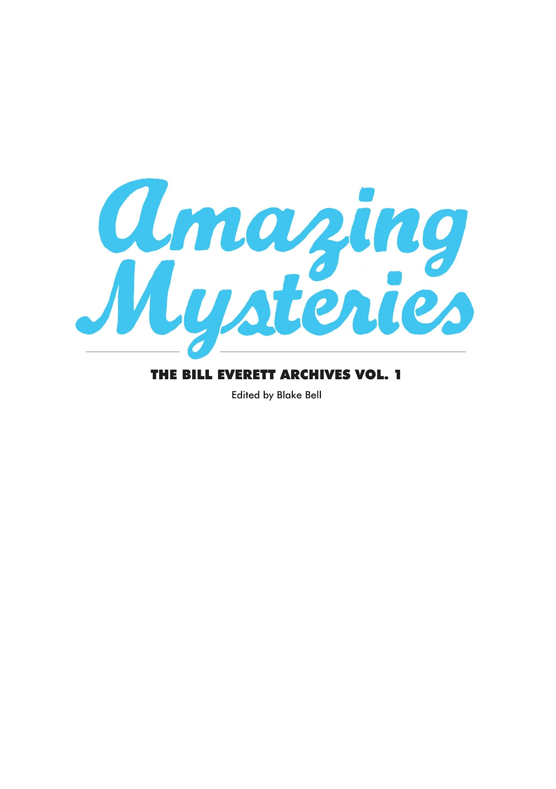 Read online The Bill Everett Archives comic -  Issue # TPB 1 (Part 1) - 4
