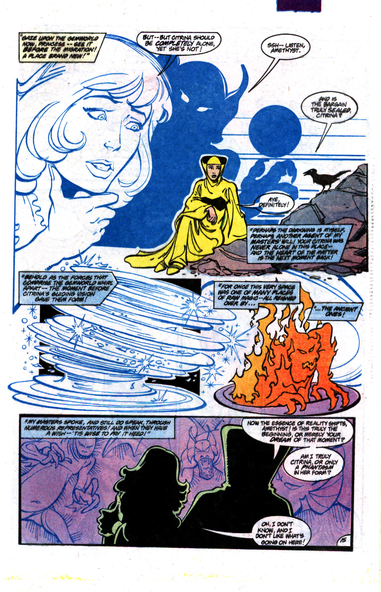 Read online Amethyst (1985) comic -  Issue #9 - 15