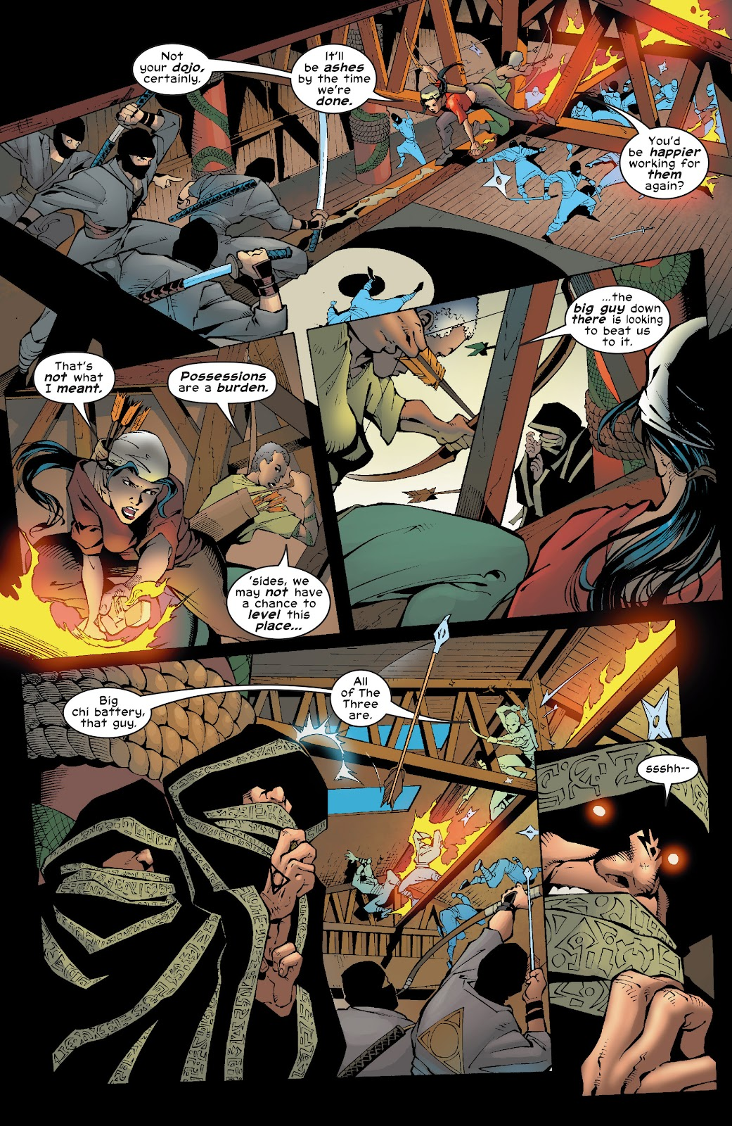 Read online Elektra (2001) comic -  Issue # _TPB Elektra by Greg Rucka Ultimate Collection (Part 4) - 35