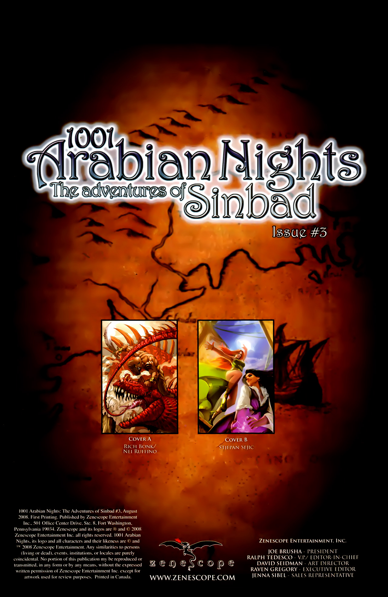 Read online 1001 Arabian Nights: The Adventures of Sinbad comic -  Issue #3 - 3