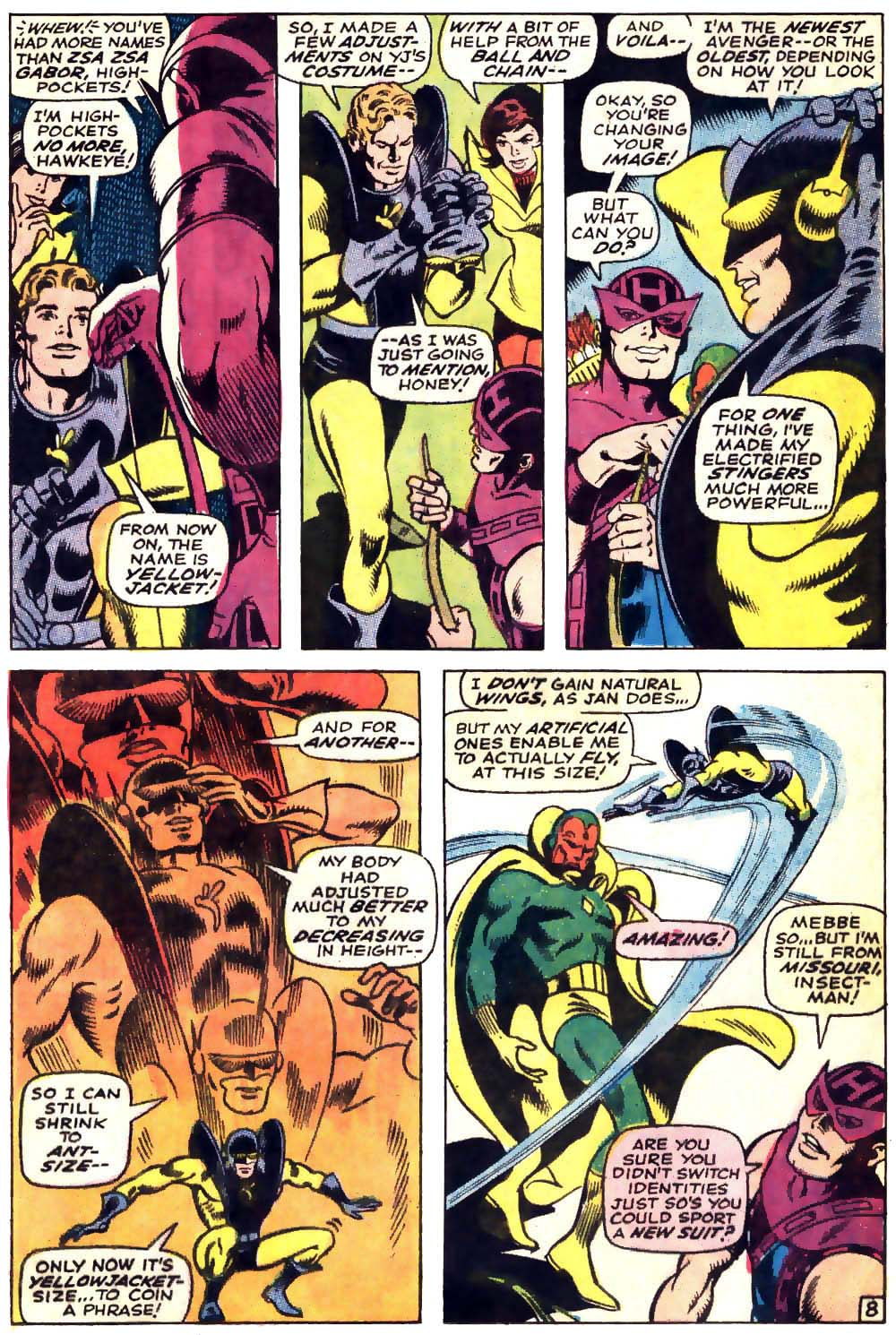 The Avengers (1963) 63 Page 8