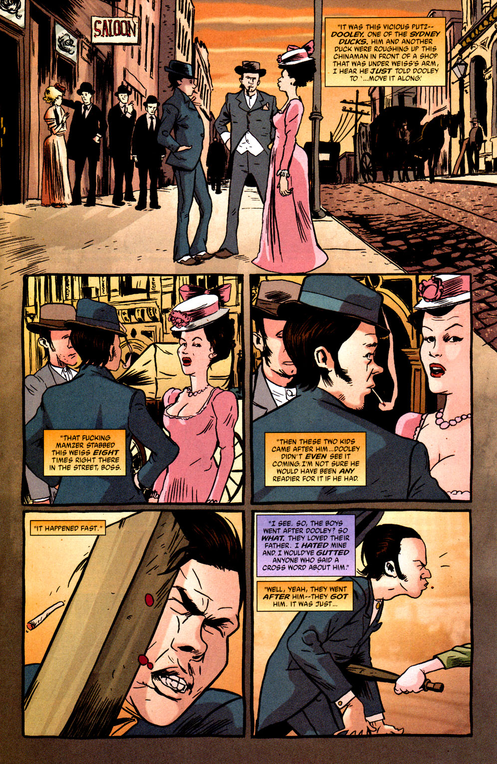 Read online Caper comic -  Issue #1 - 4