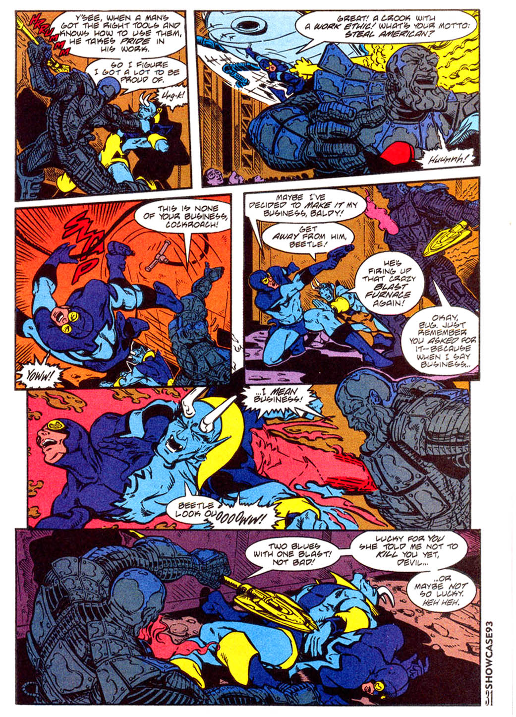 Read online Showcase '93 comic -  Issue #3 - 28