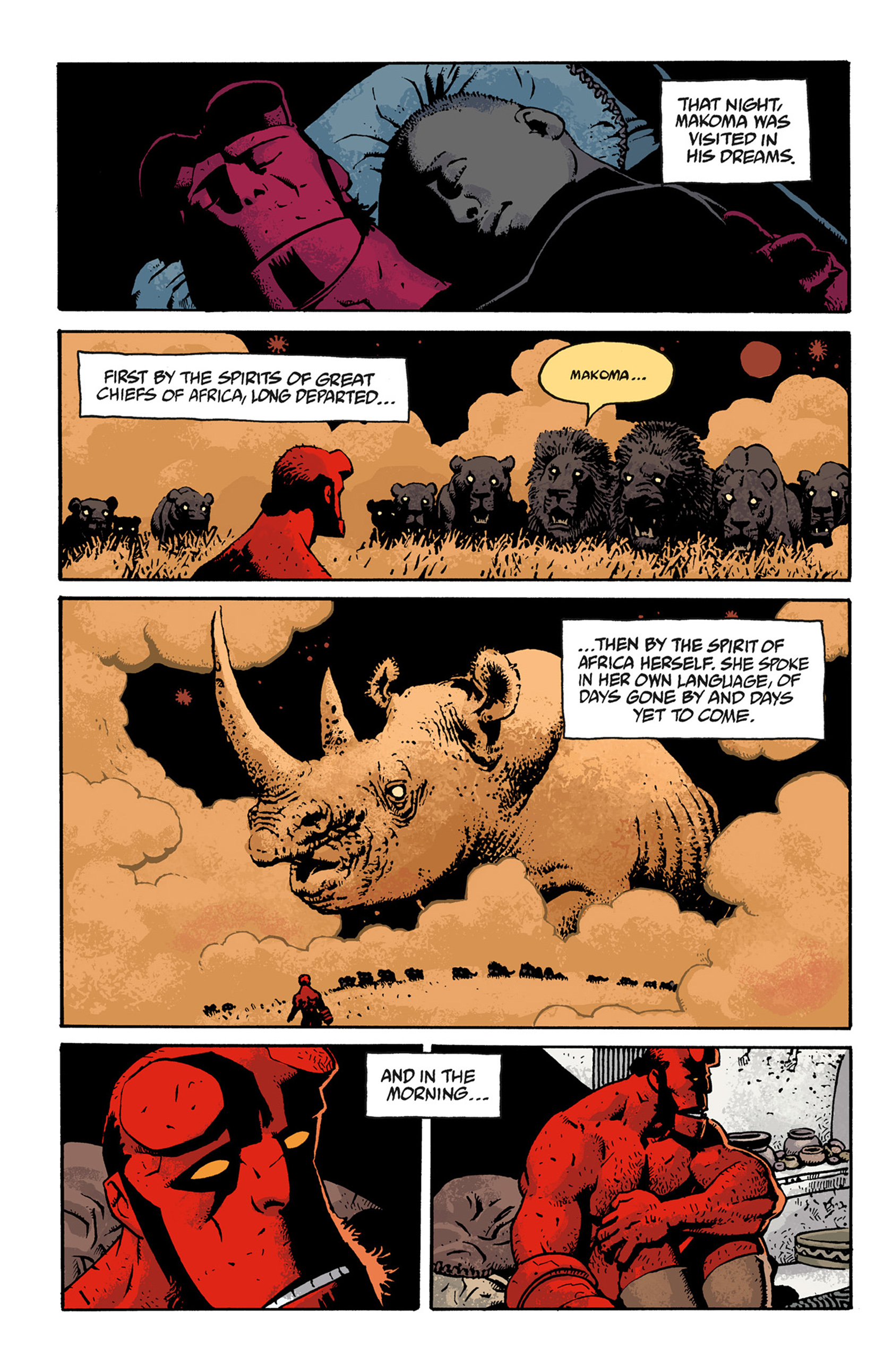 Read online Hellboy: The Troll Witch and Others comic -  Issue # TPB - 118