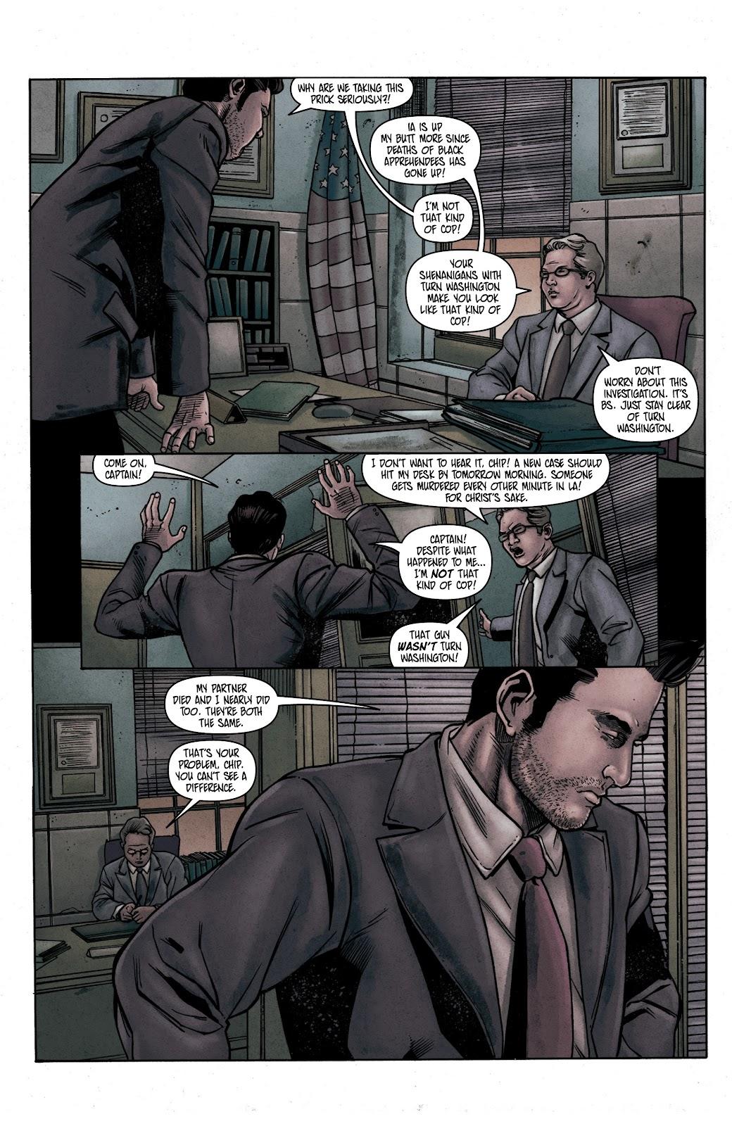 Read online Vindication comic -  Issue #1 - 21