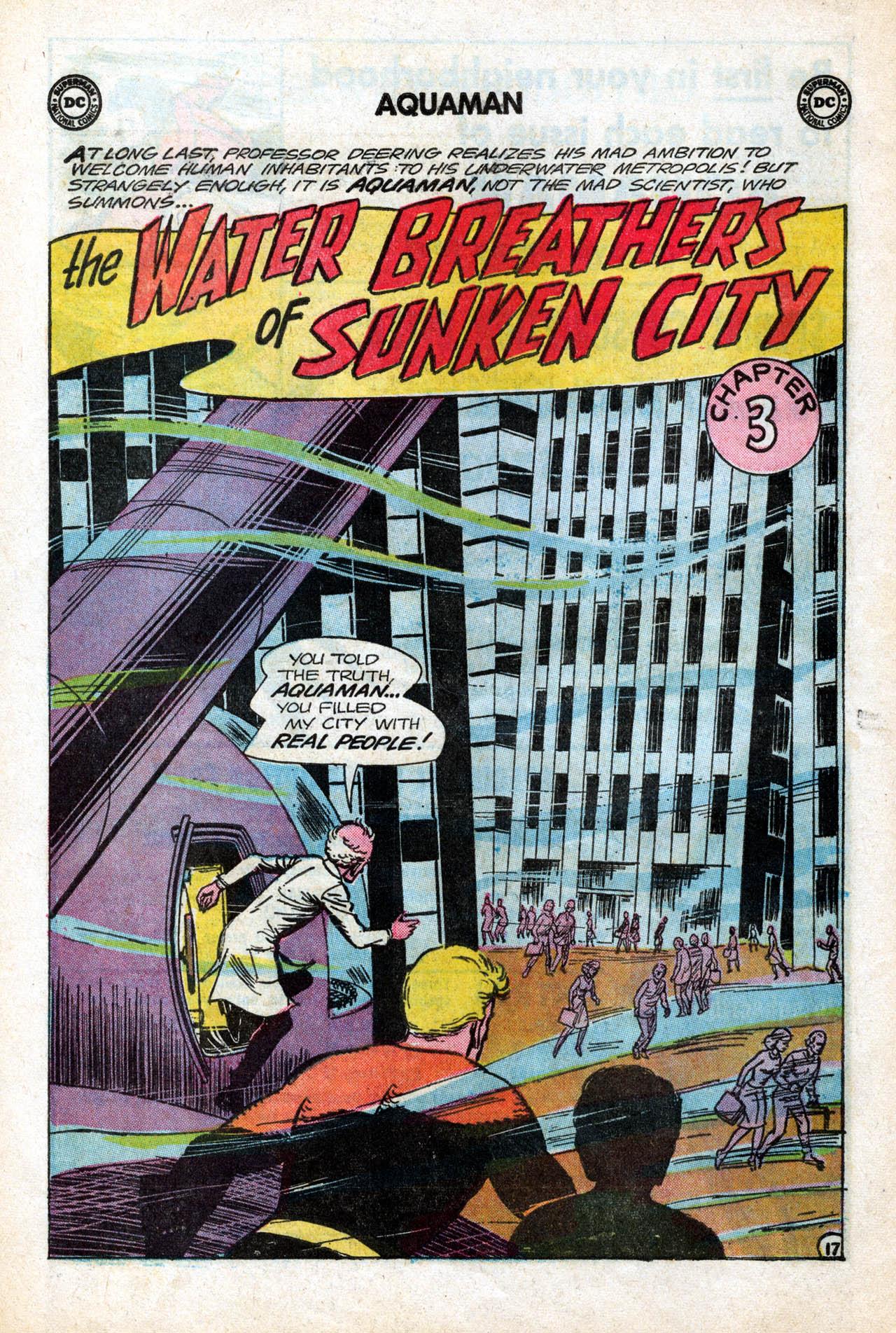 Read online Aquaman (1962) comic -  Issue #15 - 24