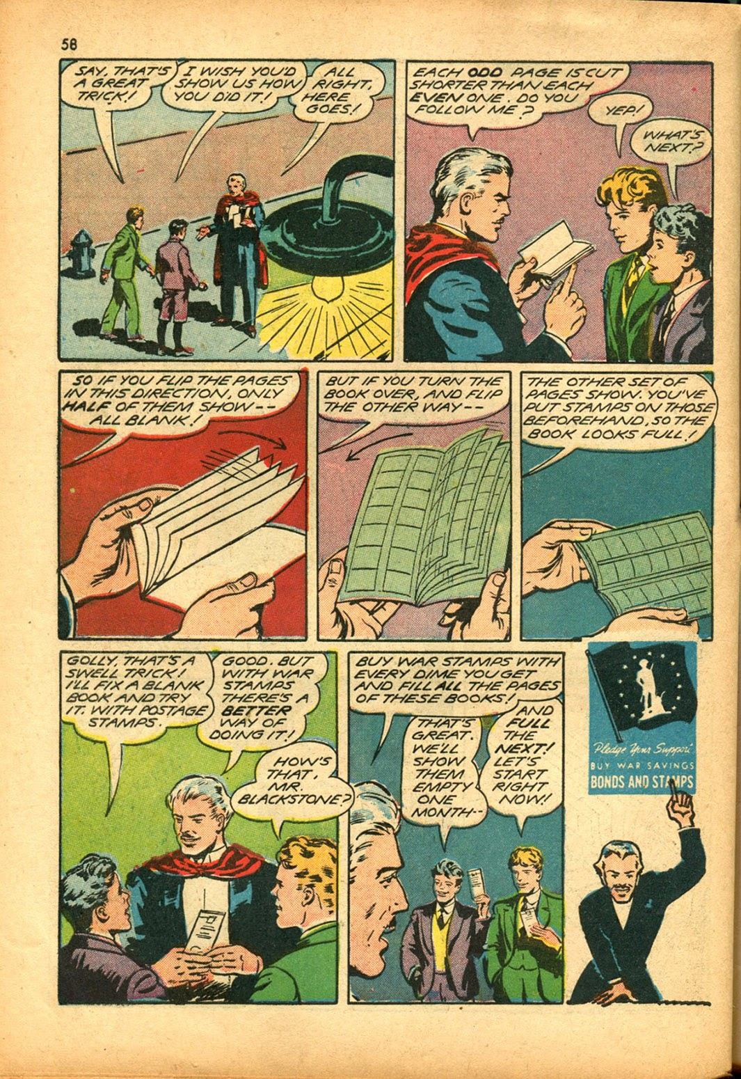 Read online Super-Magician Comics comic -  Issue #15 - 57