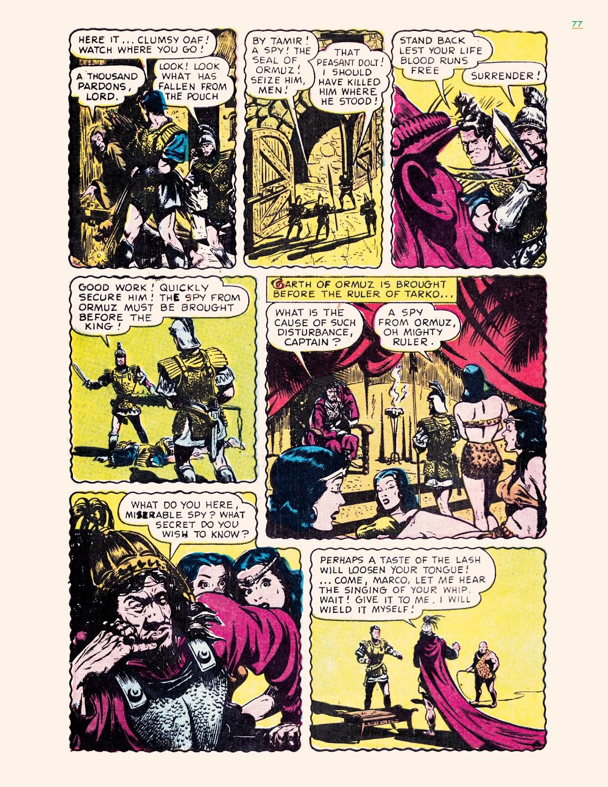 Read online Jungle Girls comic -  Issue # TPB (Part 1) - 77