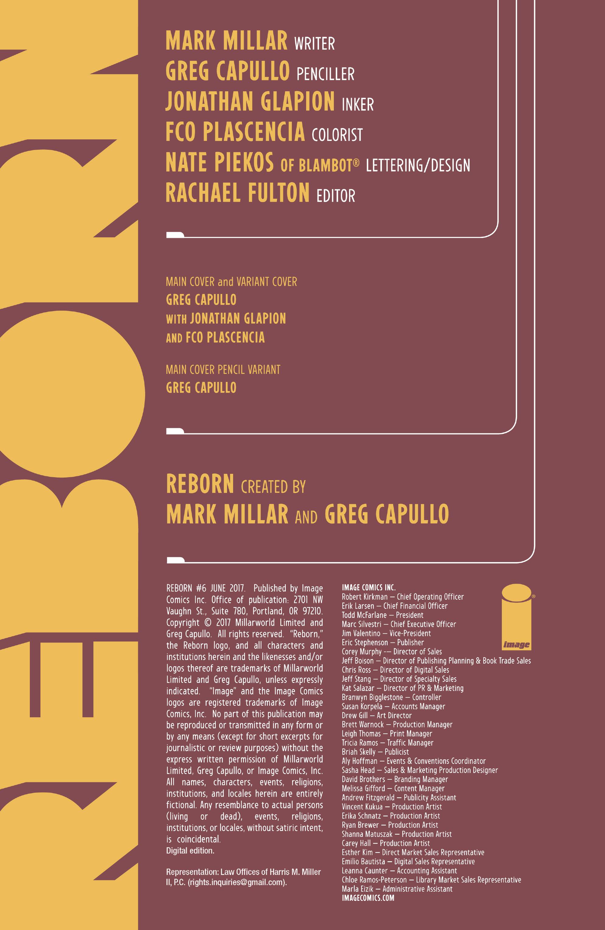 Read online Reborn comic -  Issue #6 - 3