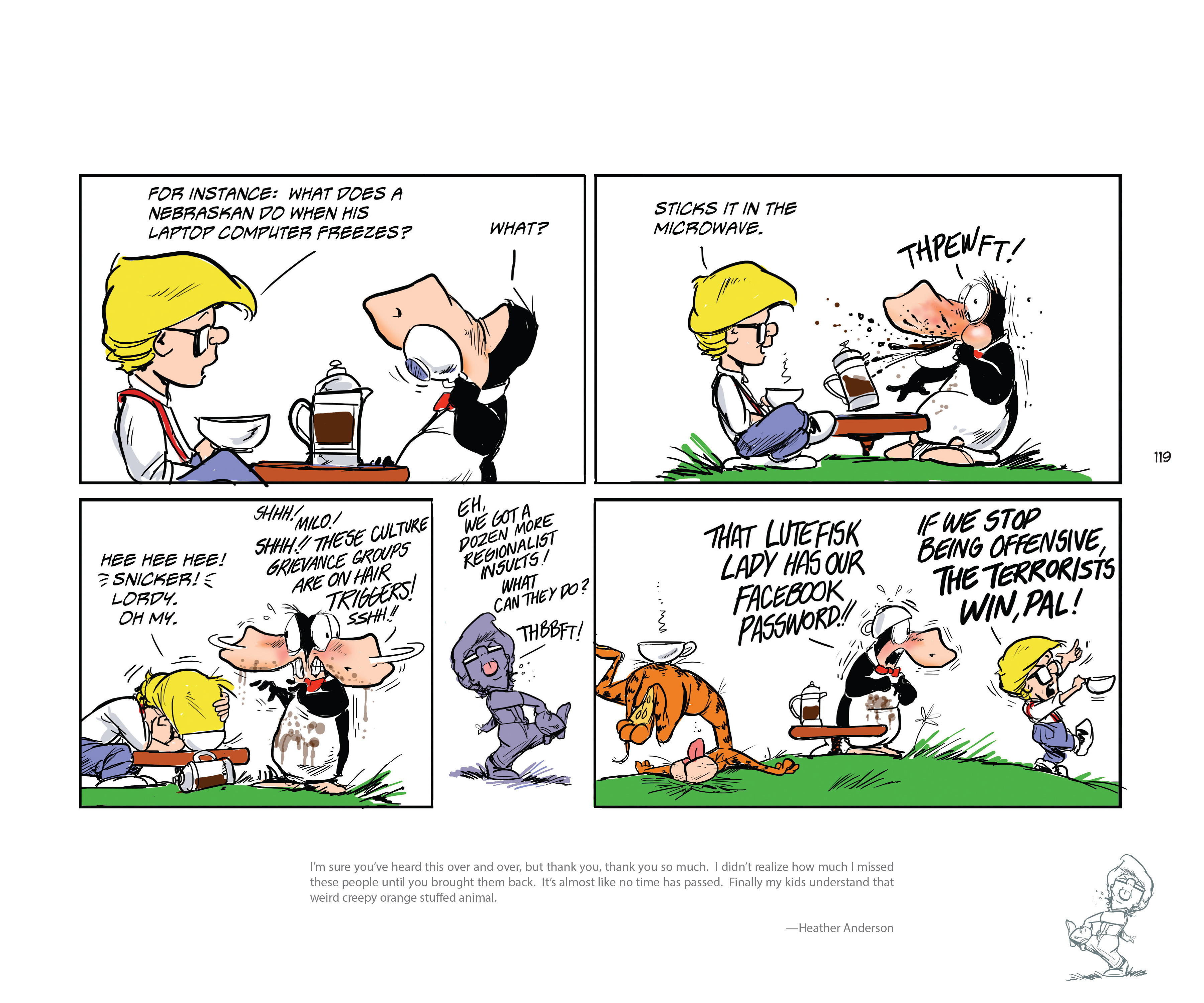 Read online Bloom County Episode XI: A New Hope comic -  Issue # Full - 121