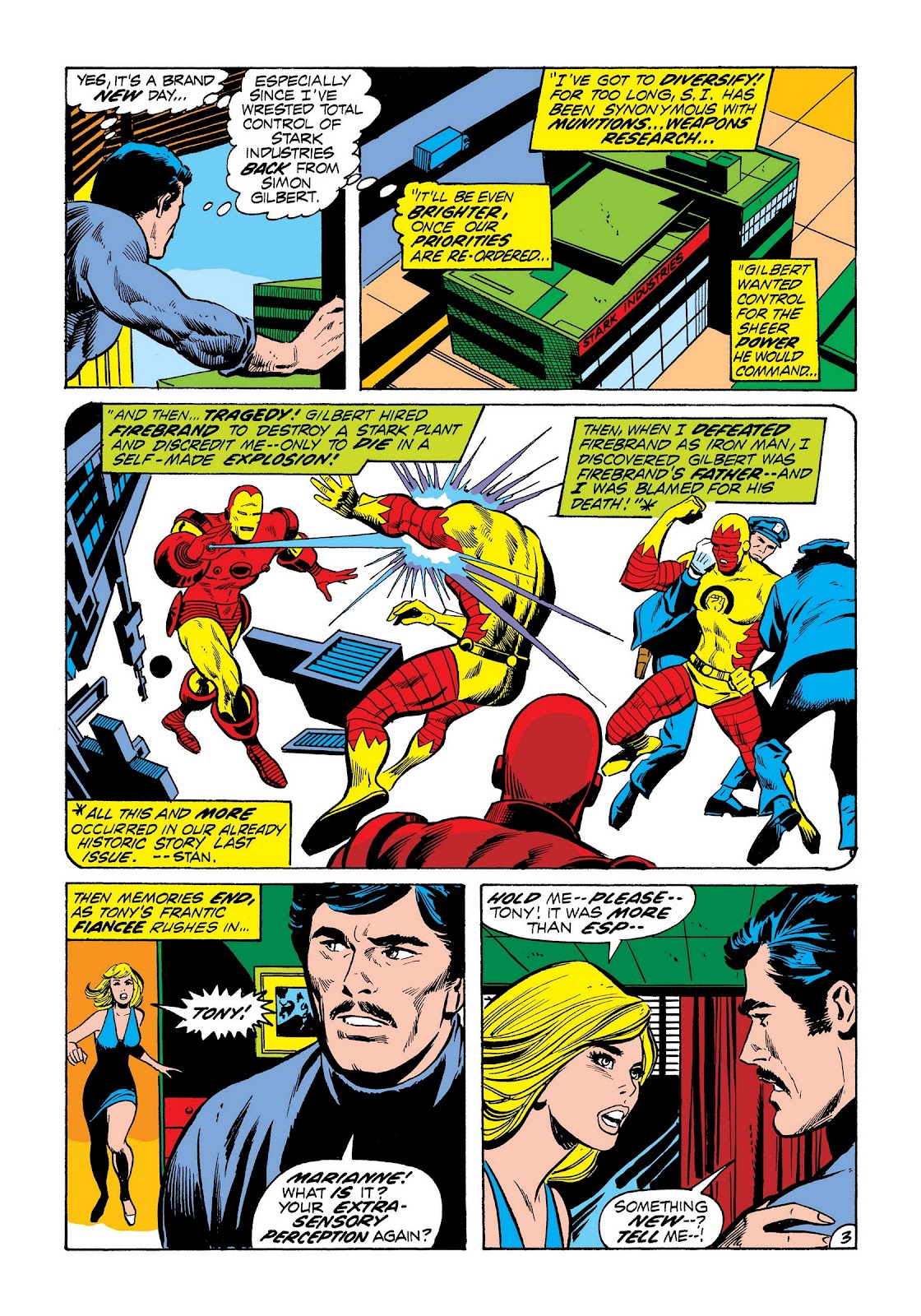 Read online Marvel Masterworks: The Invincible Iron Man comic -  Issue # TPB 8 (Part 3) - 13