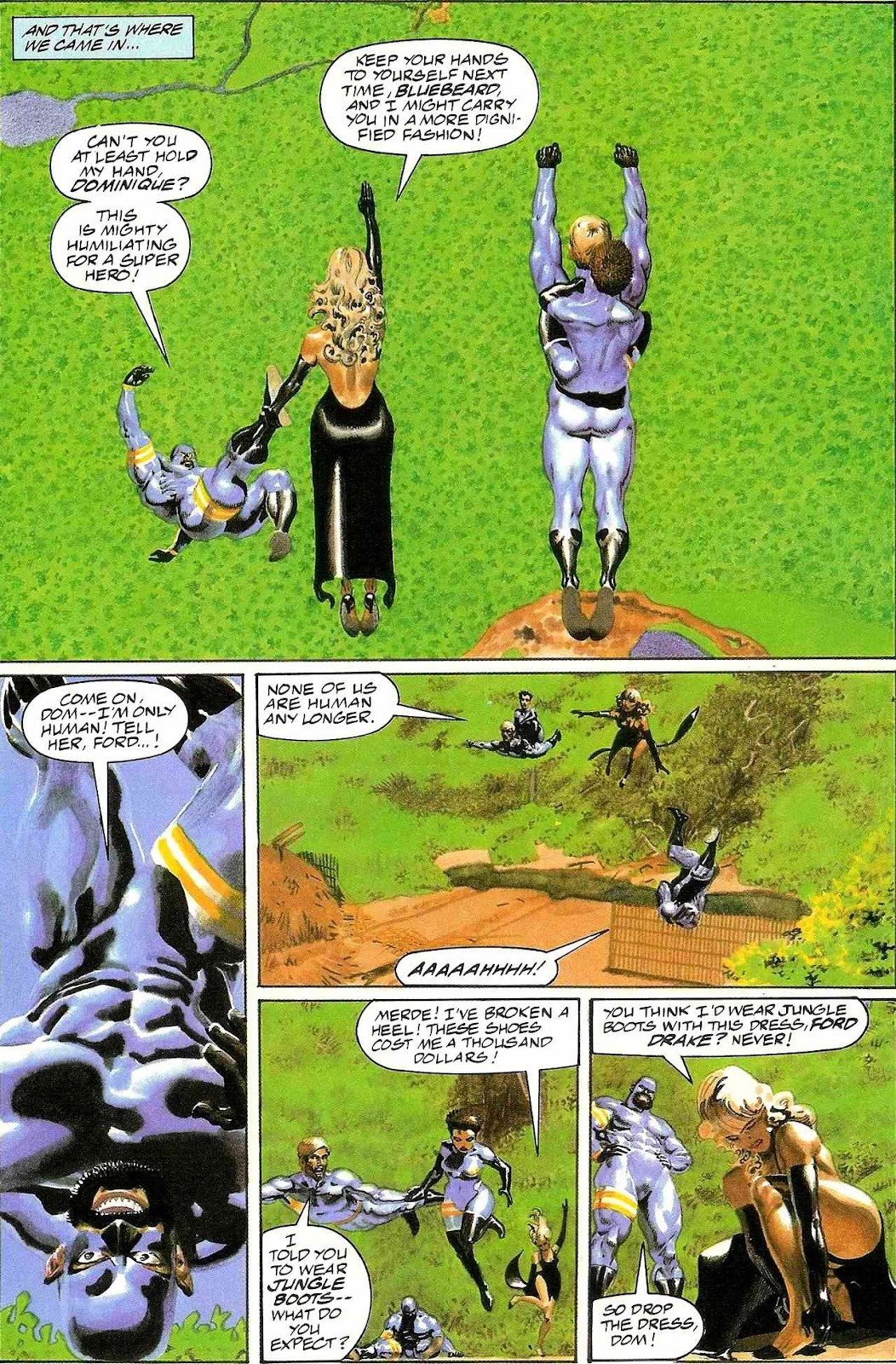 Read online Terrarists comic -  Issue #1 - 11