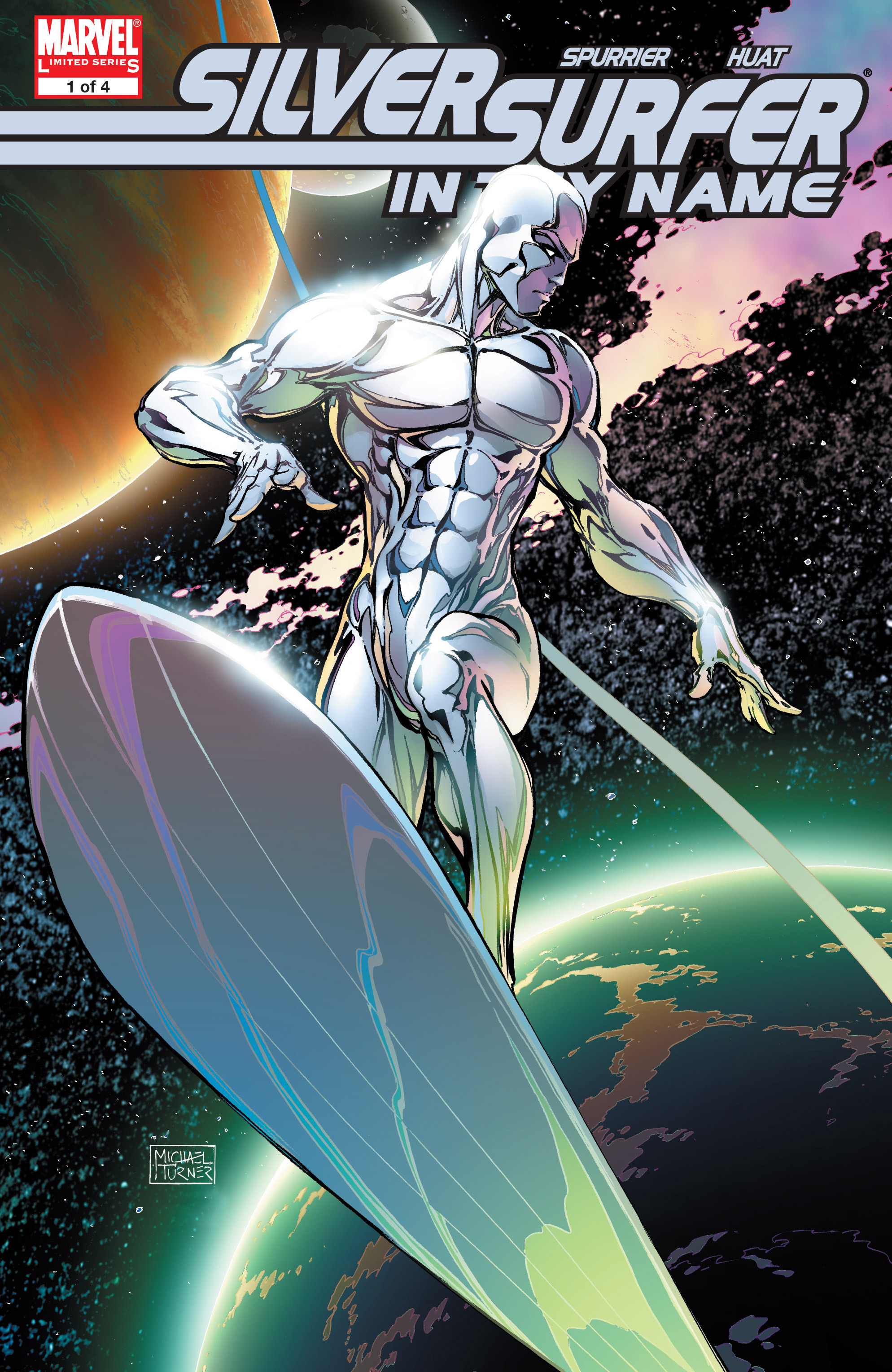 Silver Surfer: In Thy Name issue 1 - Page 1