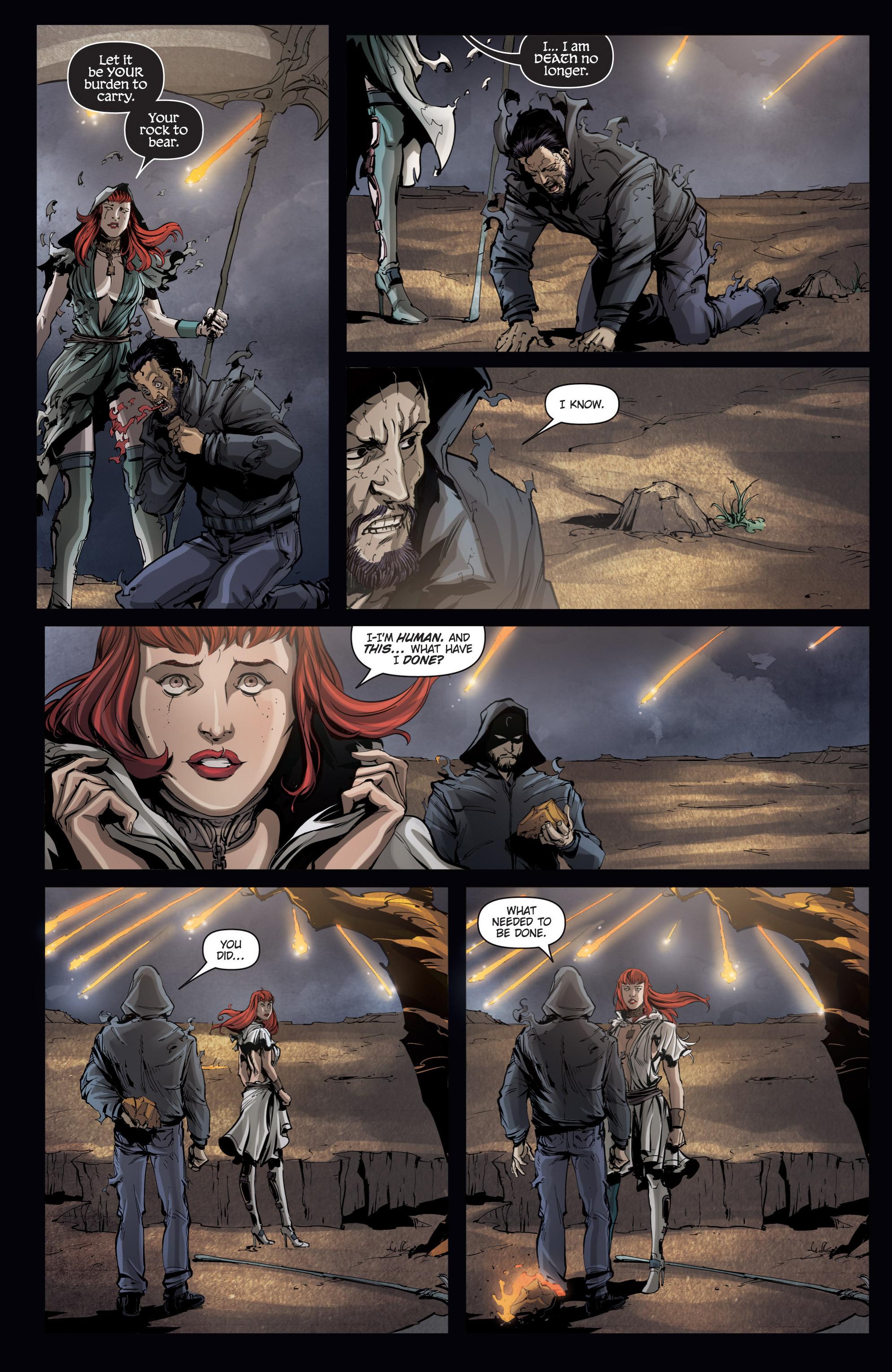 Read online Grimm Fairy Tales presents No Tomorrow comic -  Issue # TPB - 111