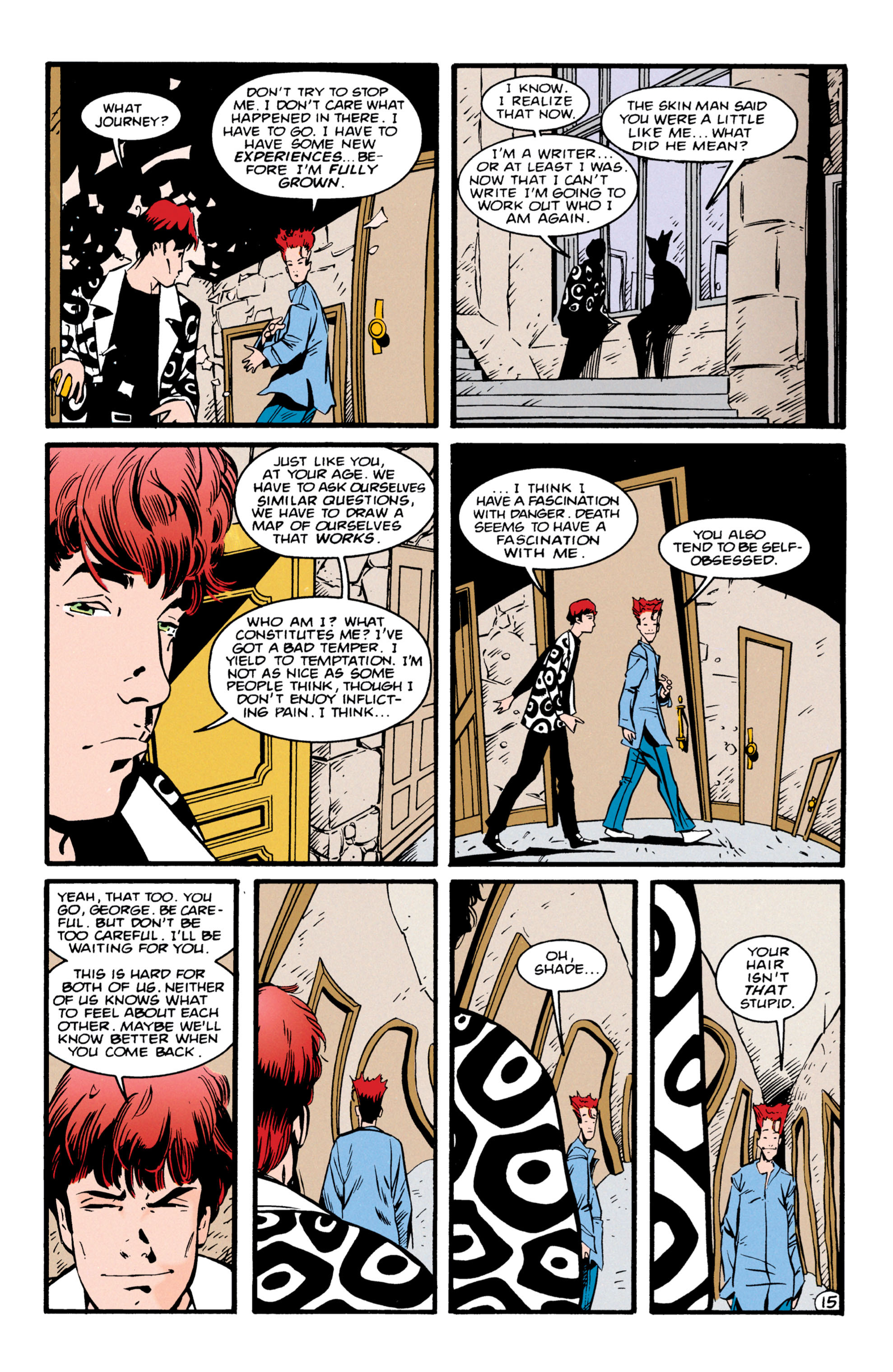 Read online Shade, the Changing Man comic -  Issue #56 - 16
